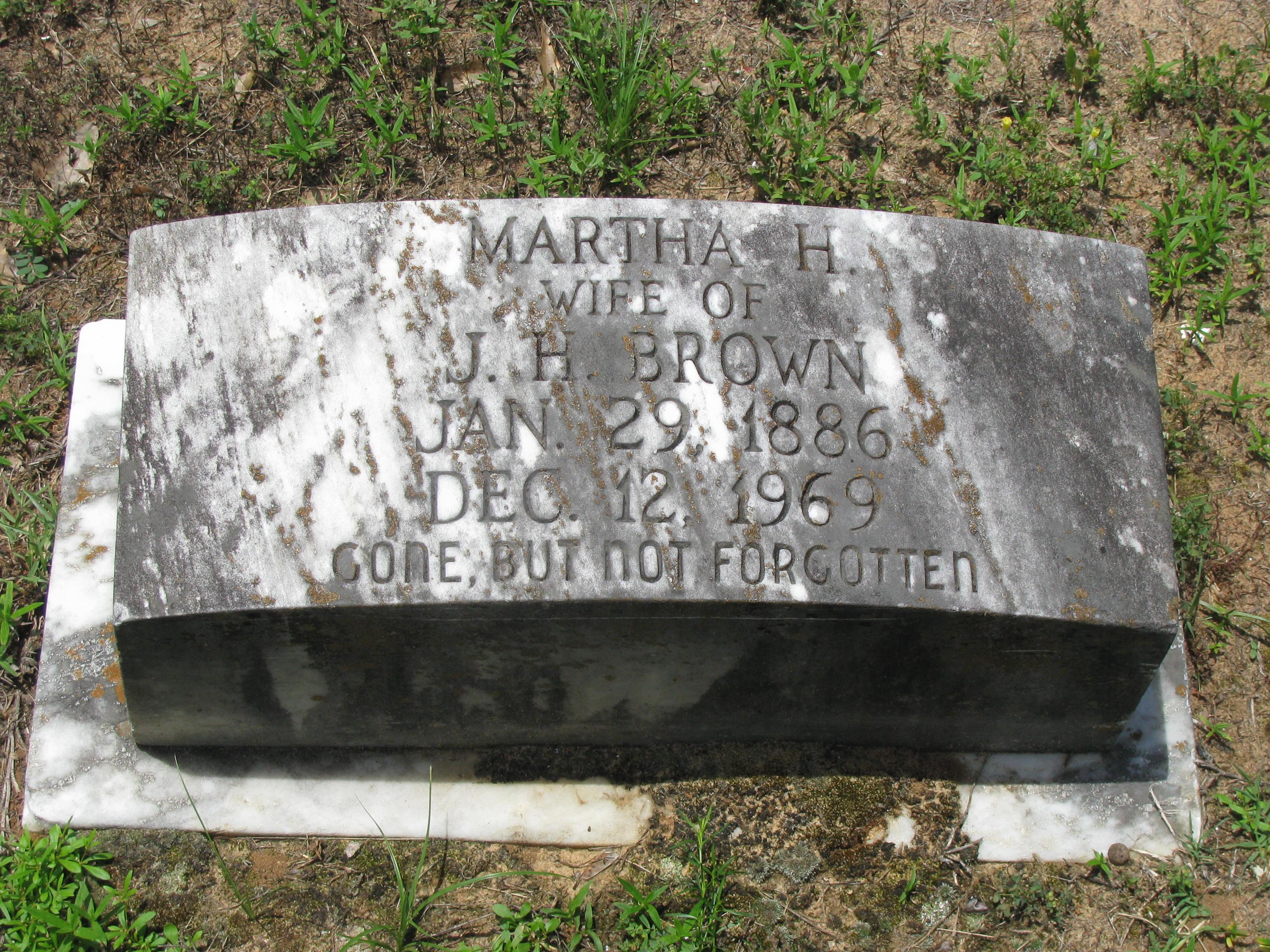 Martha H. Brown