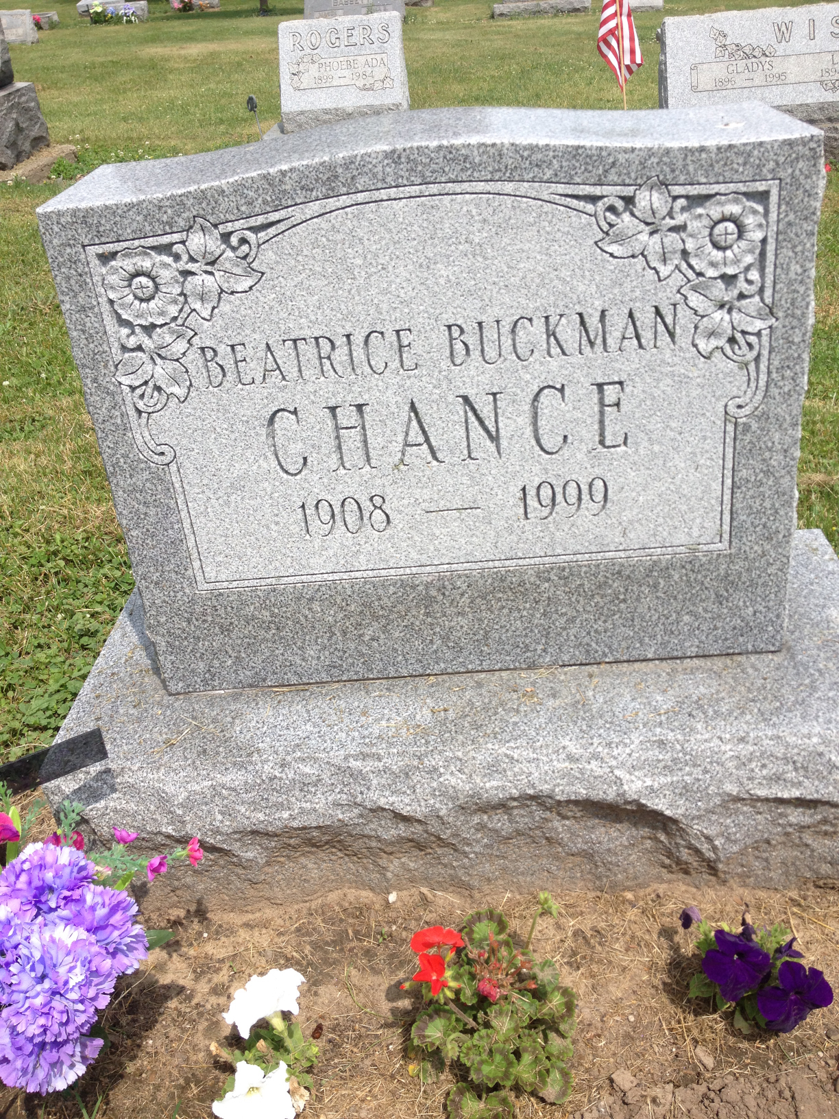 Beatrice Buckman Chance (1908-1999) - Find A Grave Memorial