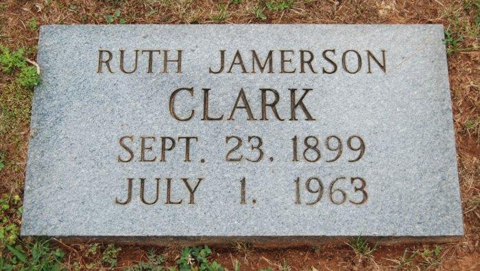 Ruth <i>Jamerson</i> Clark