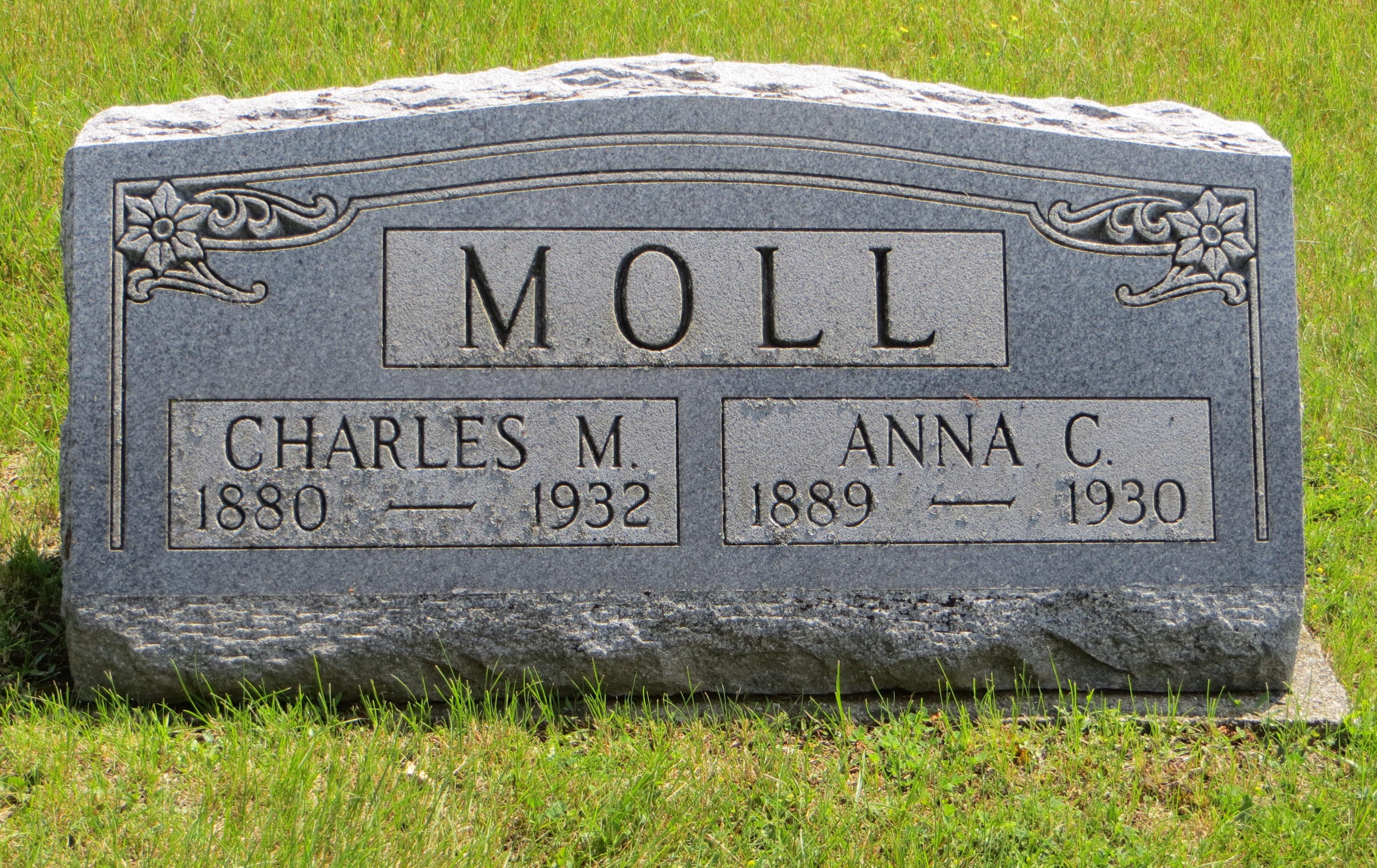 Anna C <i>Haag</i> Moll
