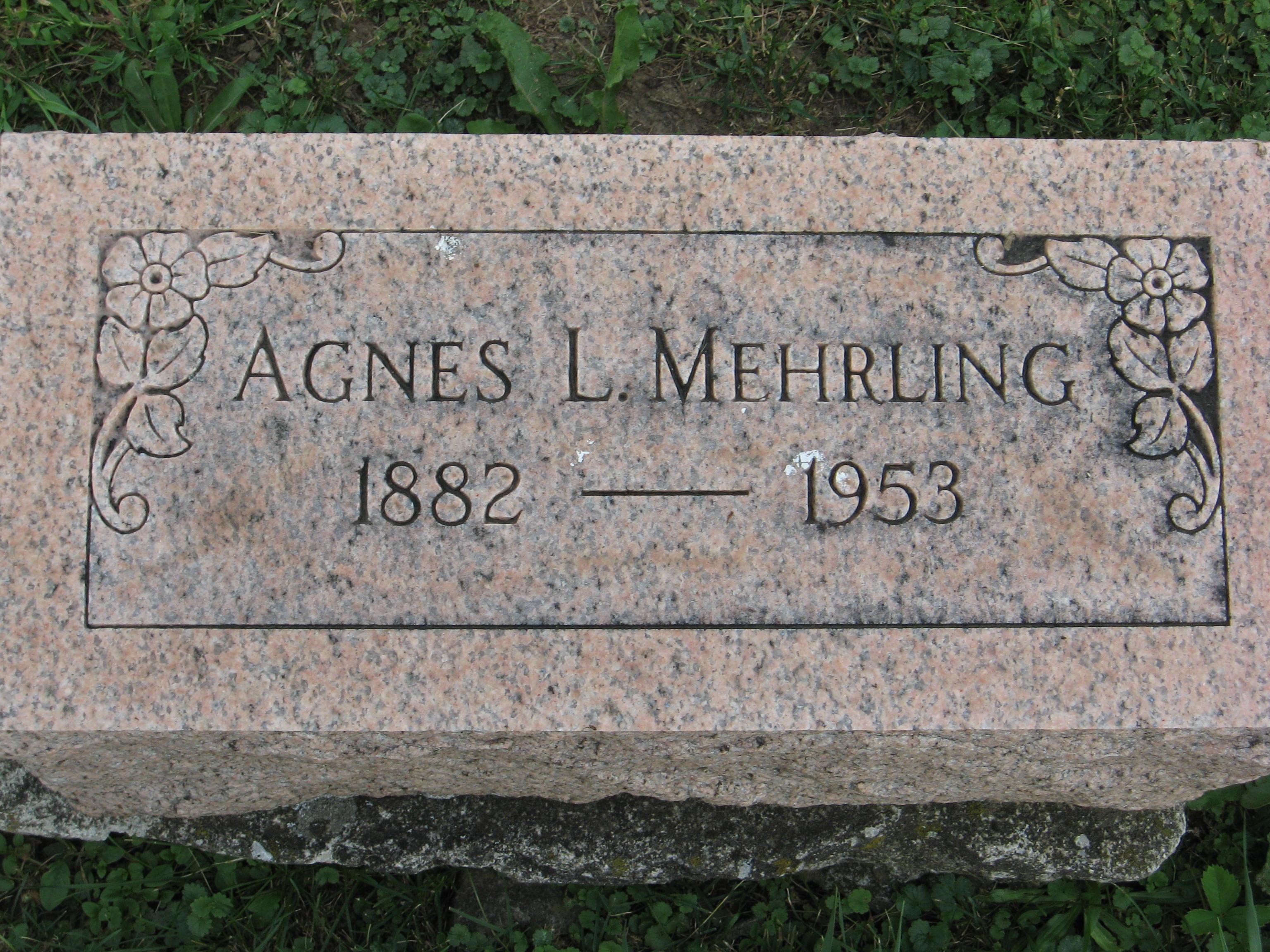 Mary Agnes <i>Long</i> Mehrling