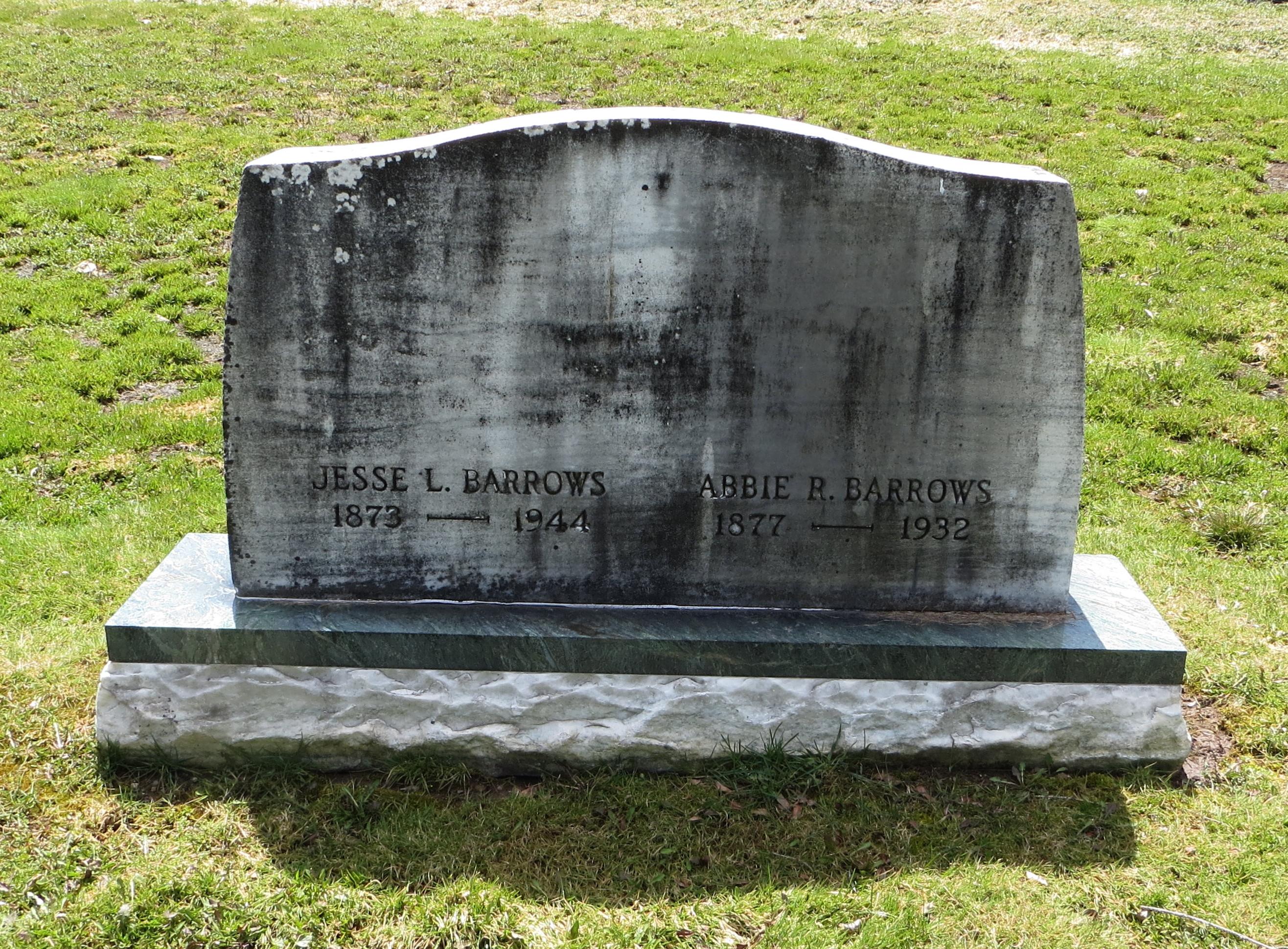 Abbie R <i>Grover</i> Barrows