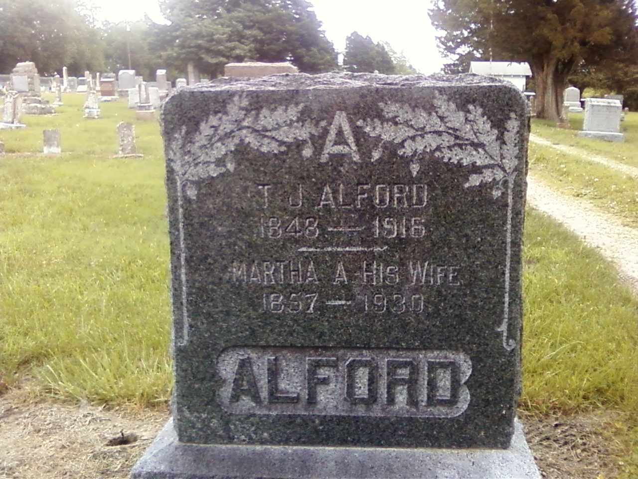 Martha Ann <i>Edwards</i> Alford