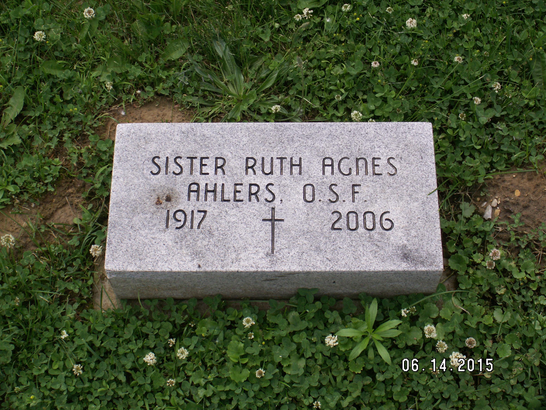 Sr Ruth Agnes Ahlers