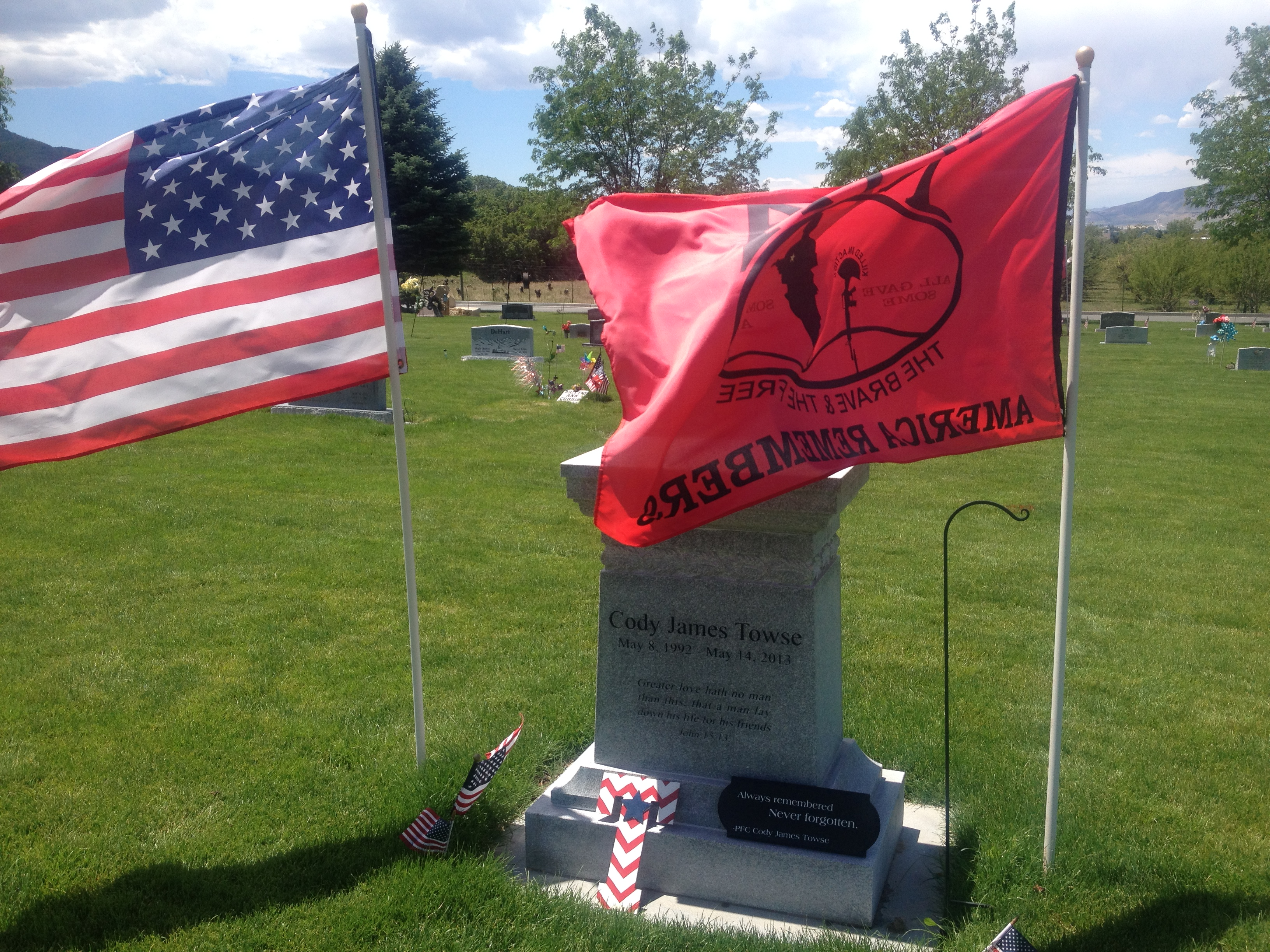 PFC Cody James Towse (1992-2013) - Find A Grave Memorial