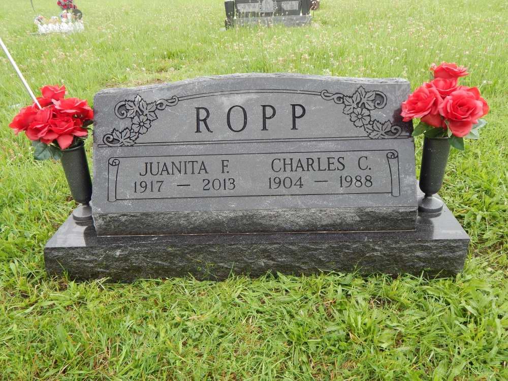 Juanita F. <i>Cook</i> Ropp