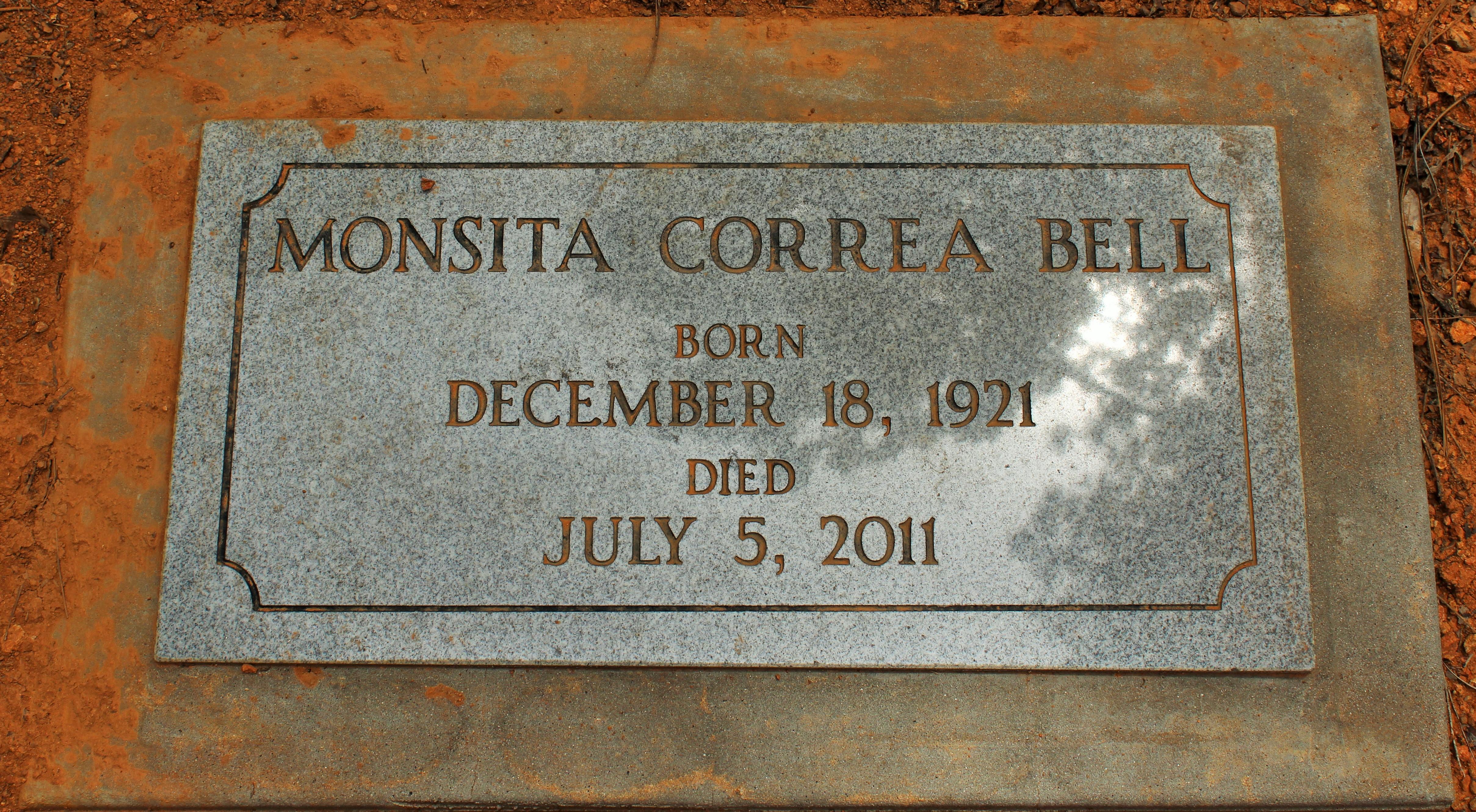 Monsita Correa Monsita <i>Correa</i> Bell