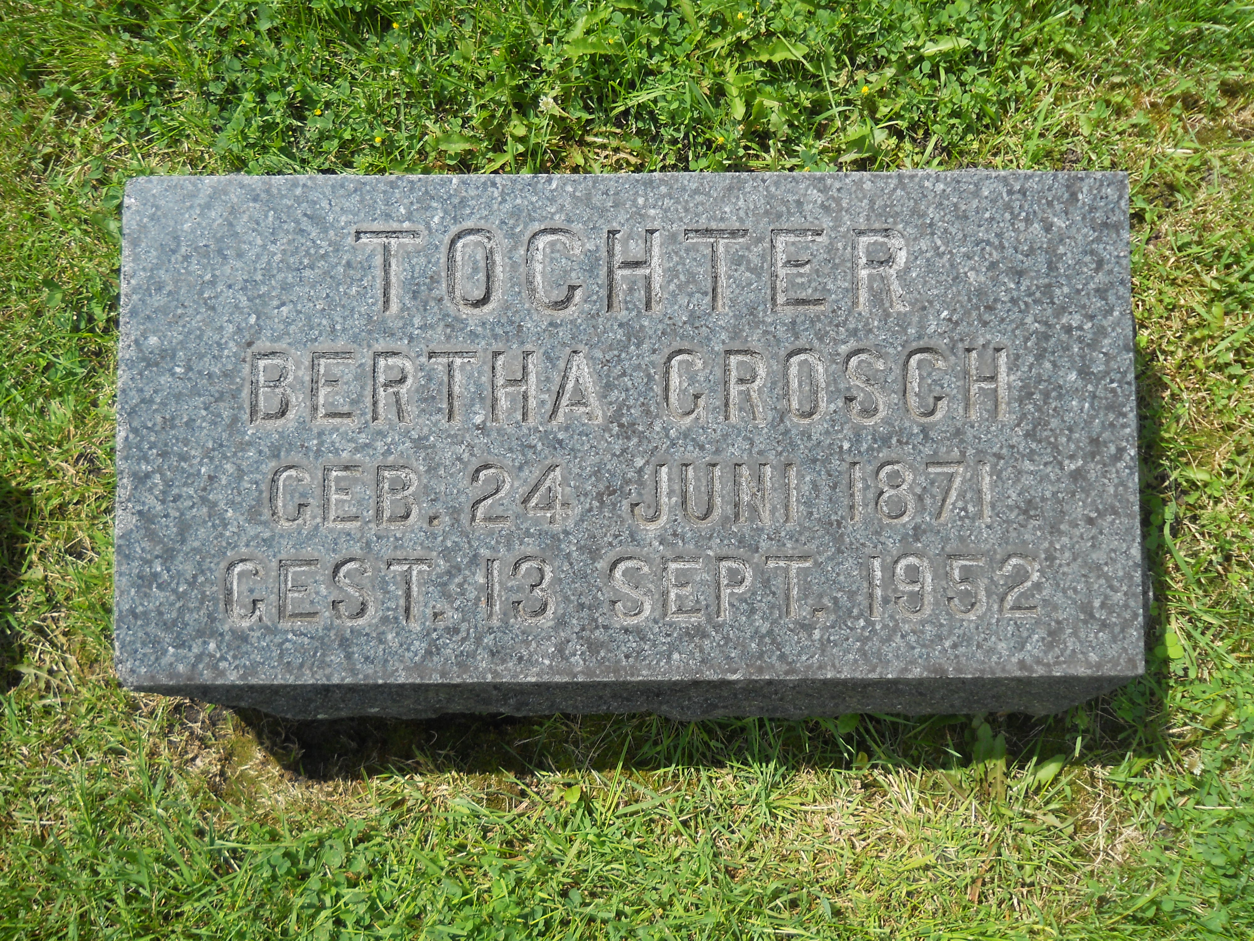 Bertha Hanna Grosch