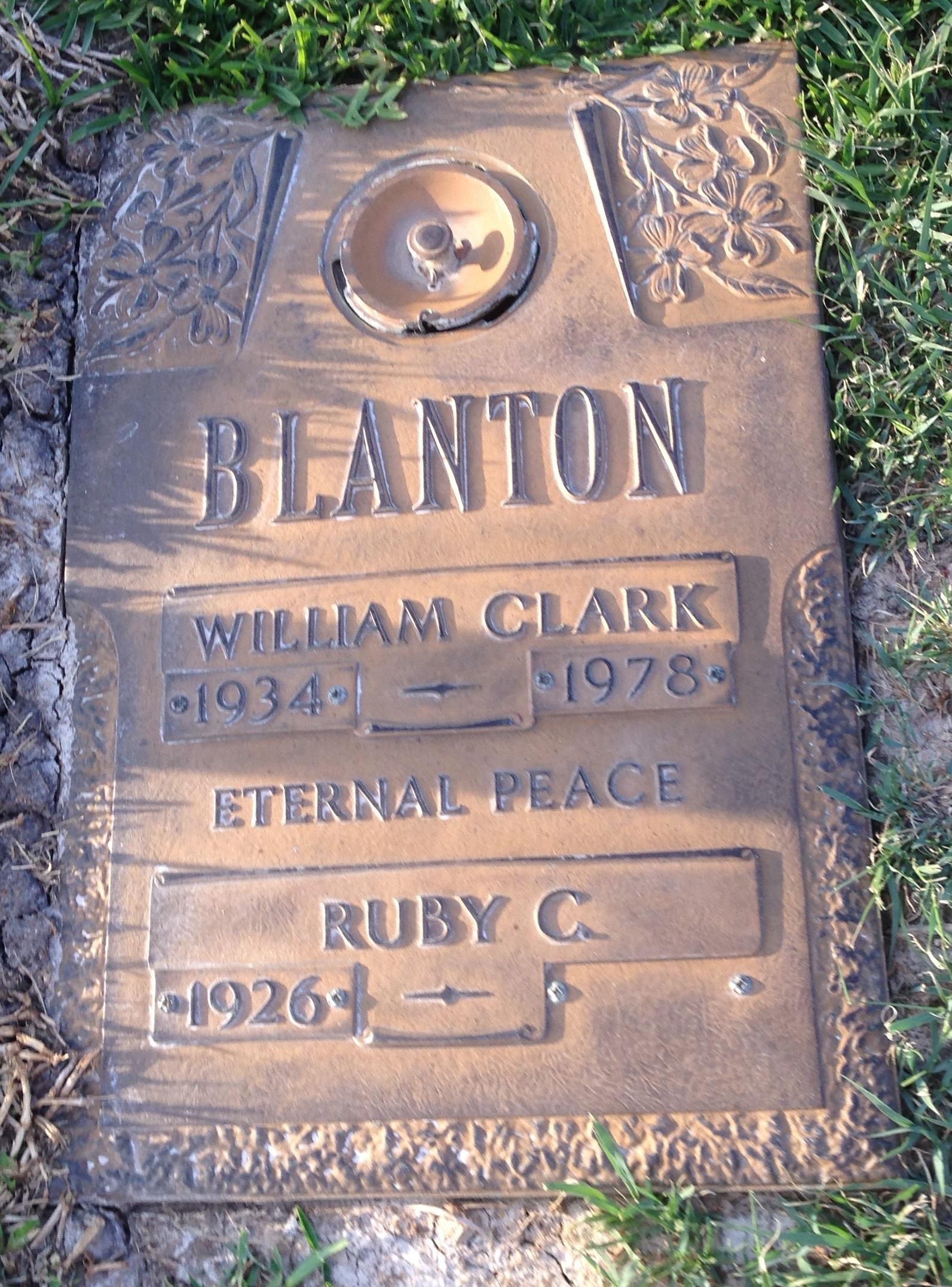 William Clark Bill Blanton