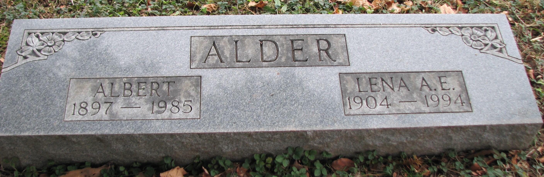 Lena Bell <i>Anness</i> Alder