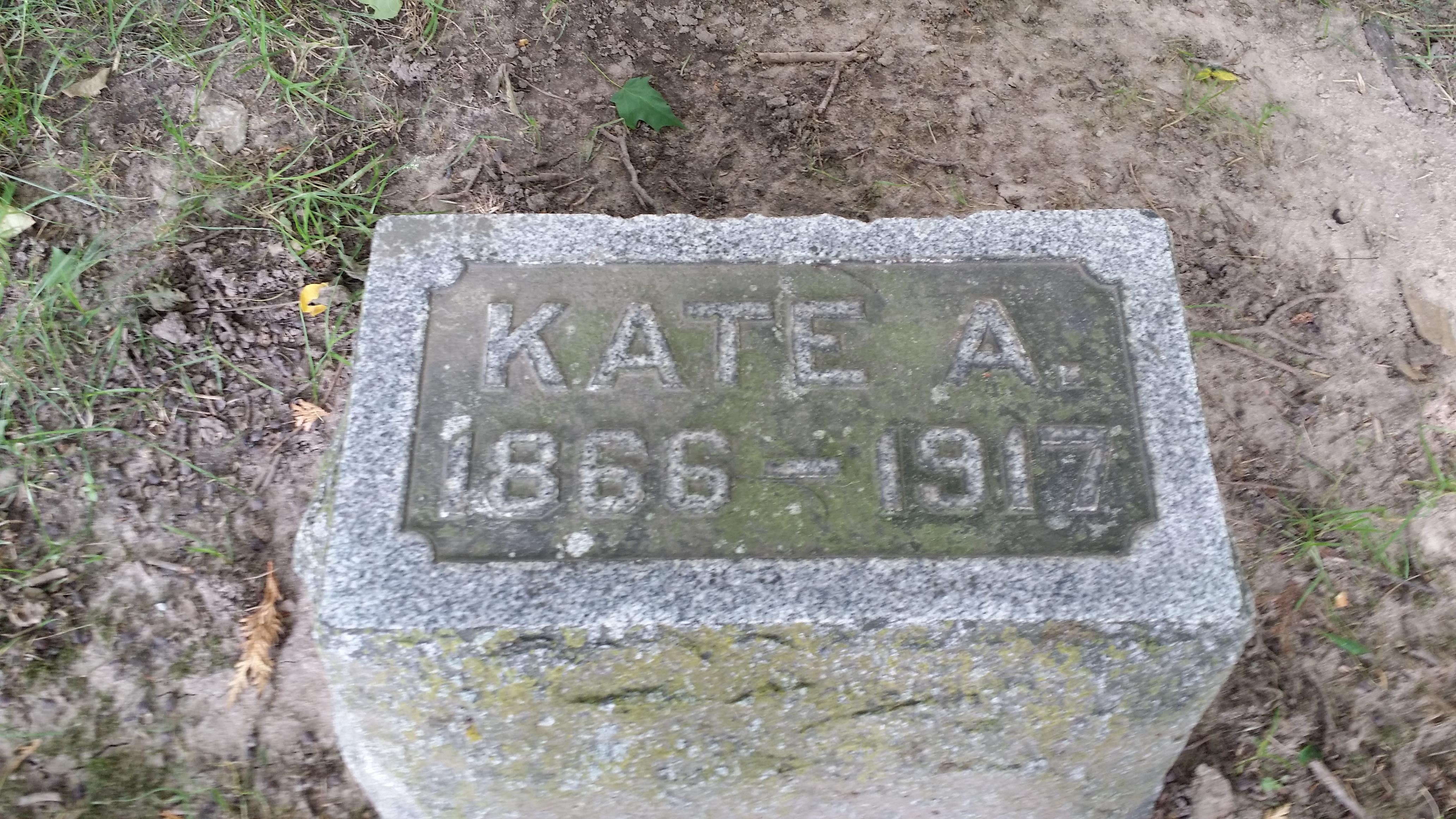 Catherine A Kate <i>Benner</i> Allen