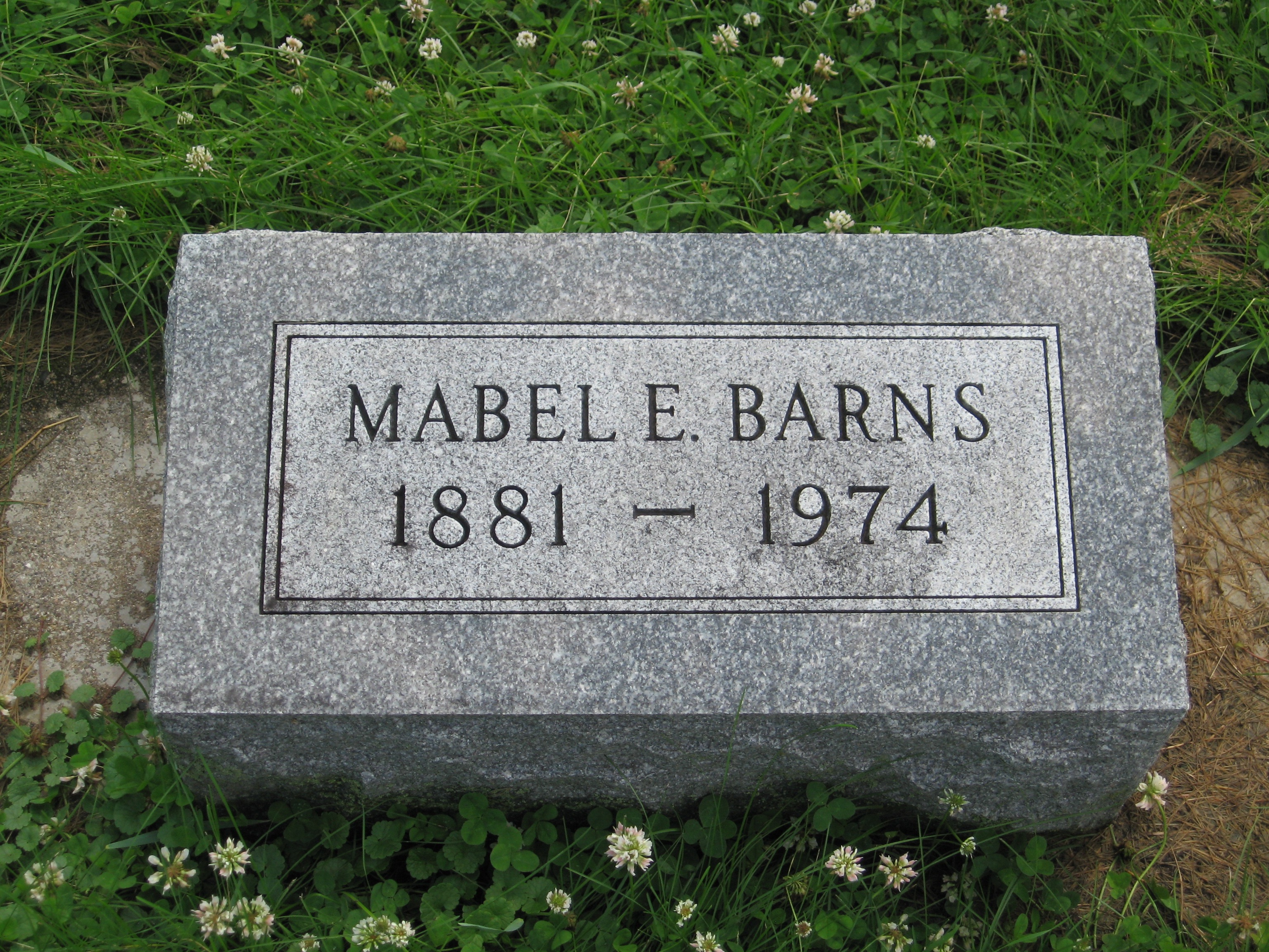 Mable Elizabeth <i>Moxley</i> Barns