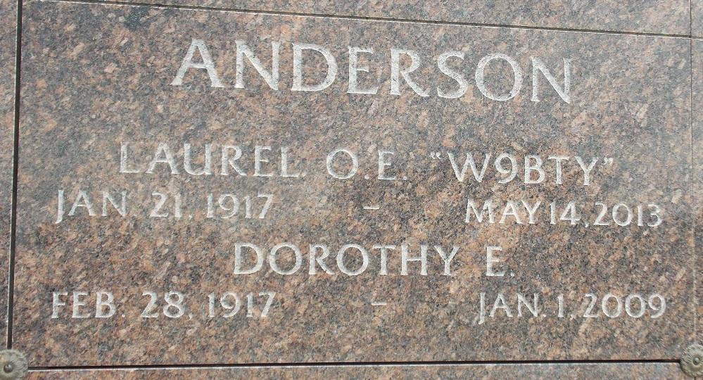 Dorothy E. <i>Timm</i> Anderson