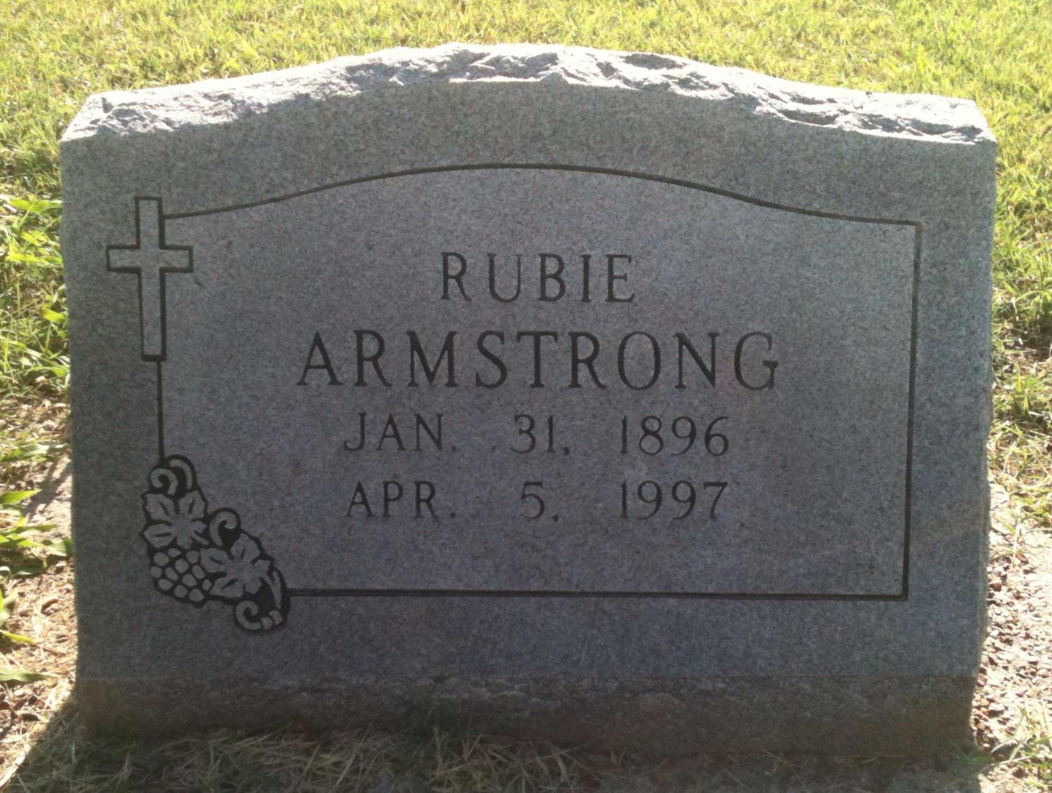 Ruben William Rubie Armstrong
