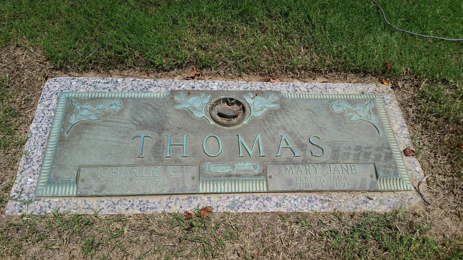 Mary Jane <i>Nolen</i> Thomas
