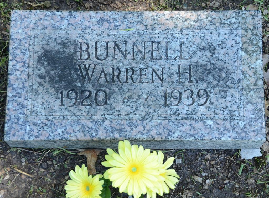 Warren G Harding Bunnell