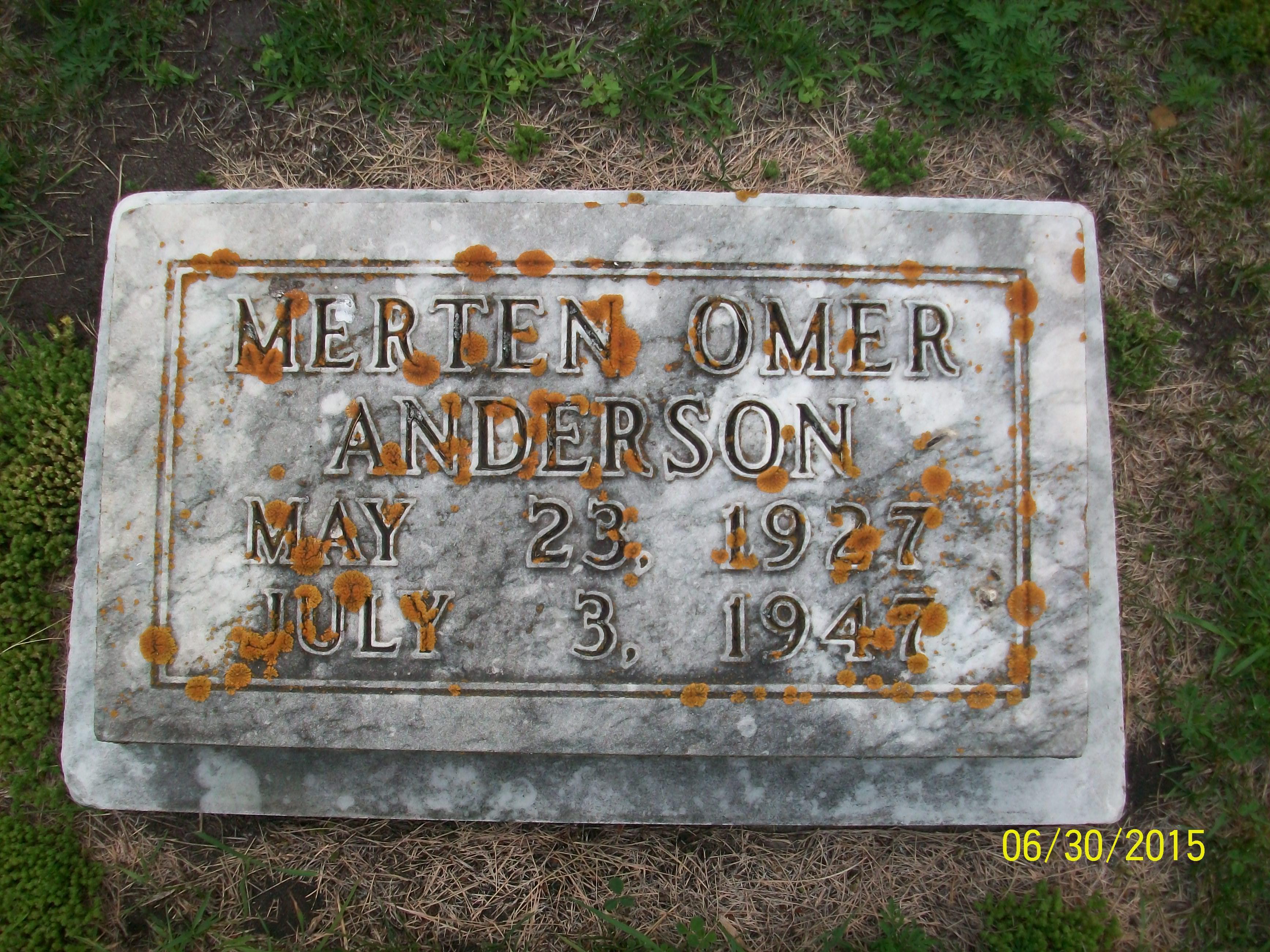 Merton Omer Anderson