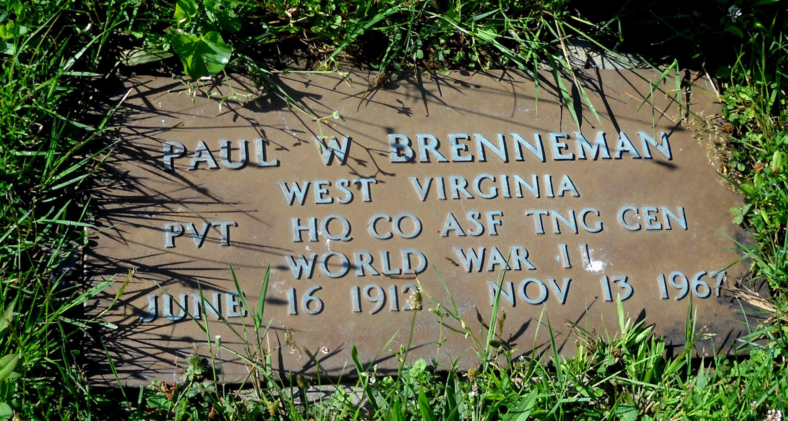Paul W. Brenneman