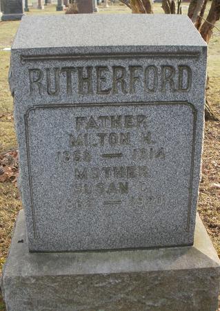 Susan C. <i>King</i> Rutherford