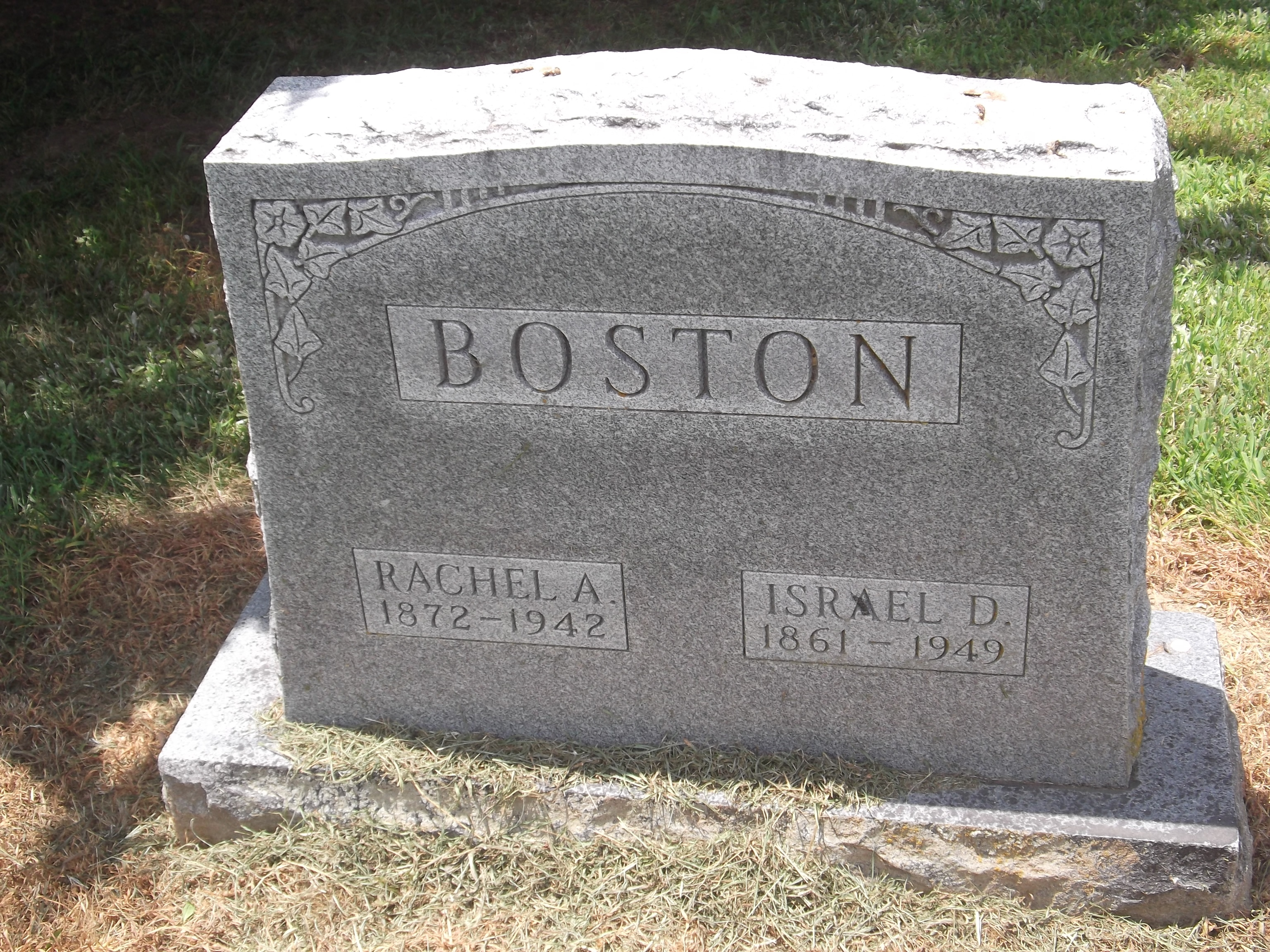 Rachel Alvaretta <i>Adams</i> Boston