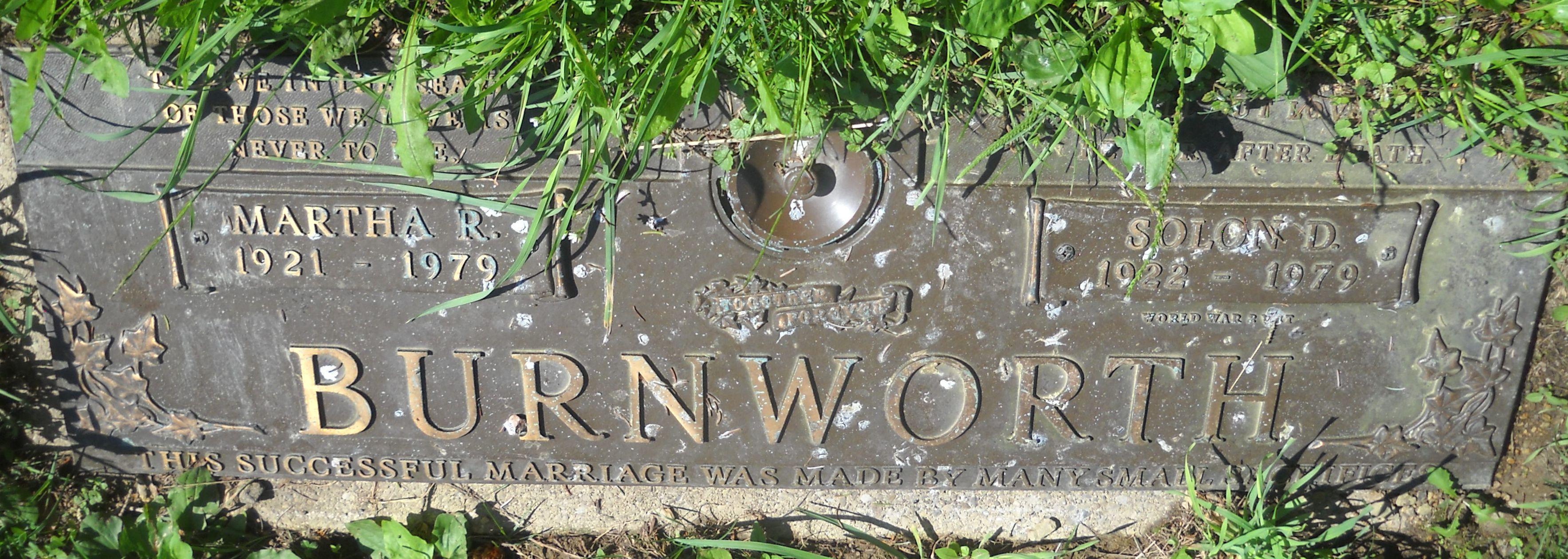 Martha R. Burnworth