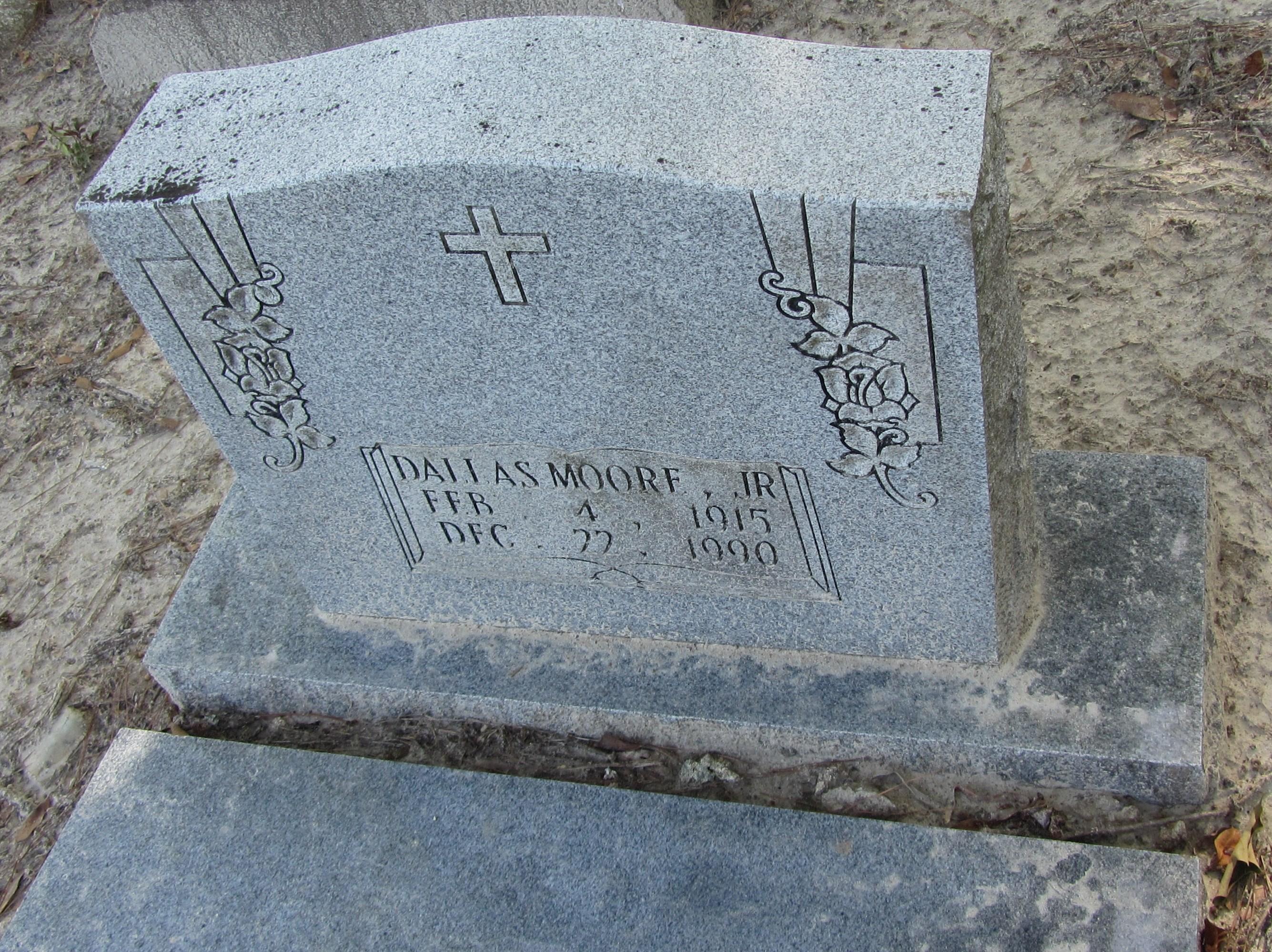 Dallas Moore Jr 1915 1990 Find A Grave Memorial