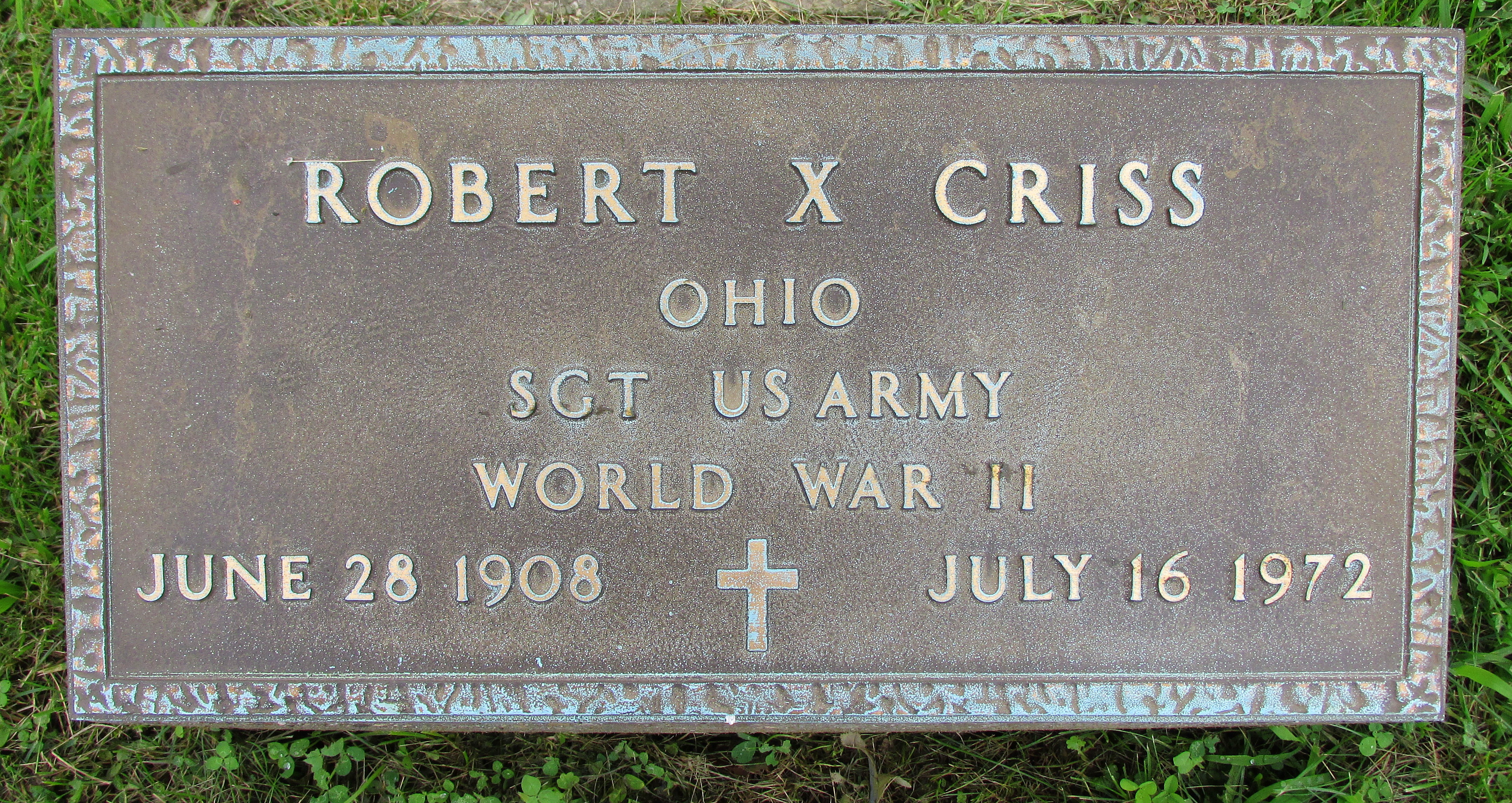 Robert X Criss