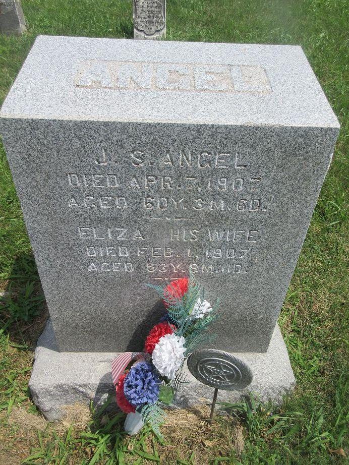 Eliza E. <i>Ridlen</i> Angel