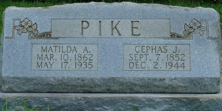 Matilda Ann <i>Sims</i> Pike