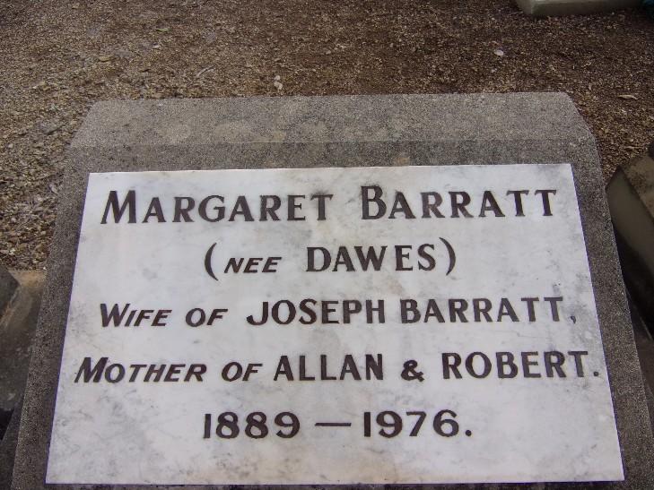 Margaret <i>Dawes</i> Barratt