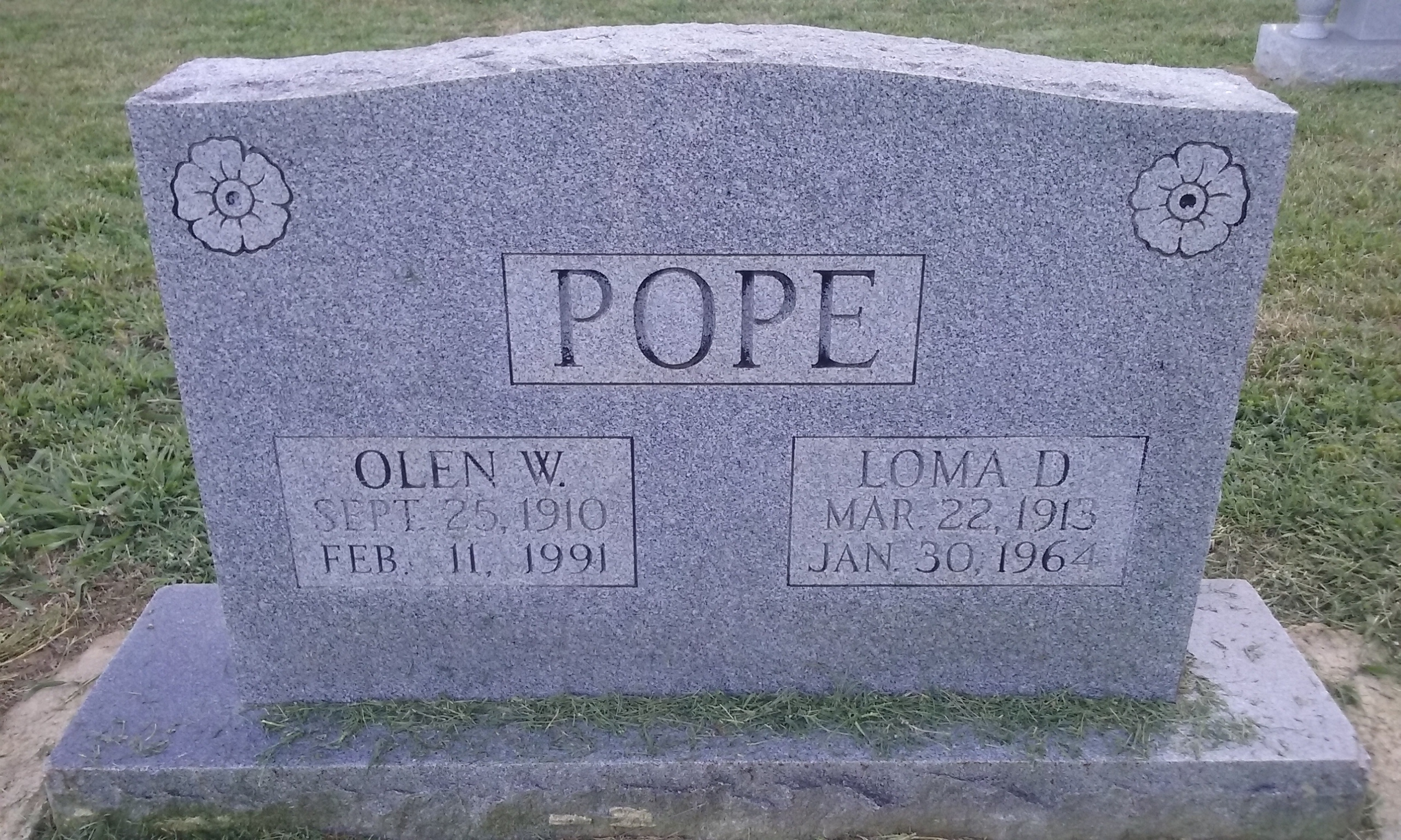 Beton ölen olen walker pope 1910 1991 find a grave memorial