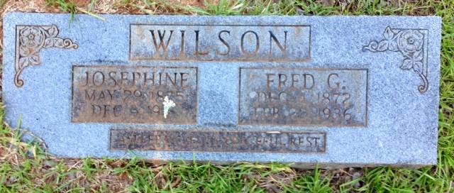 Mary Josephine <i>Wingfield</i> Wilson