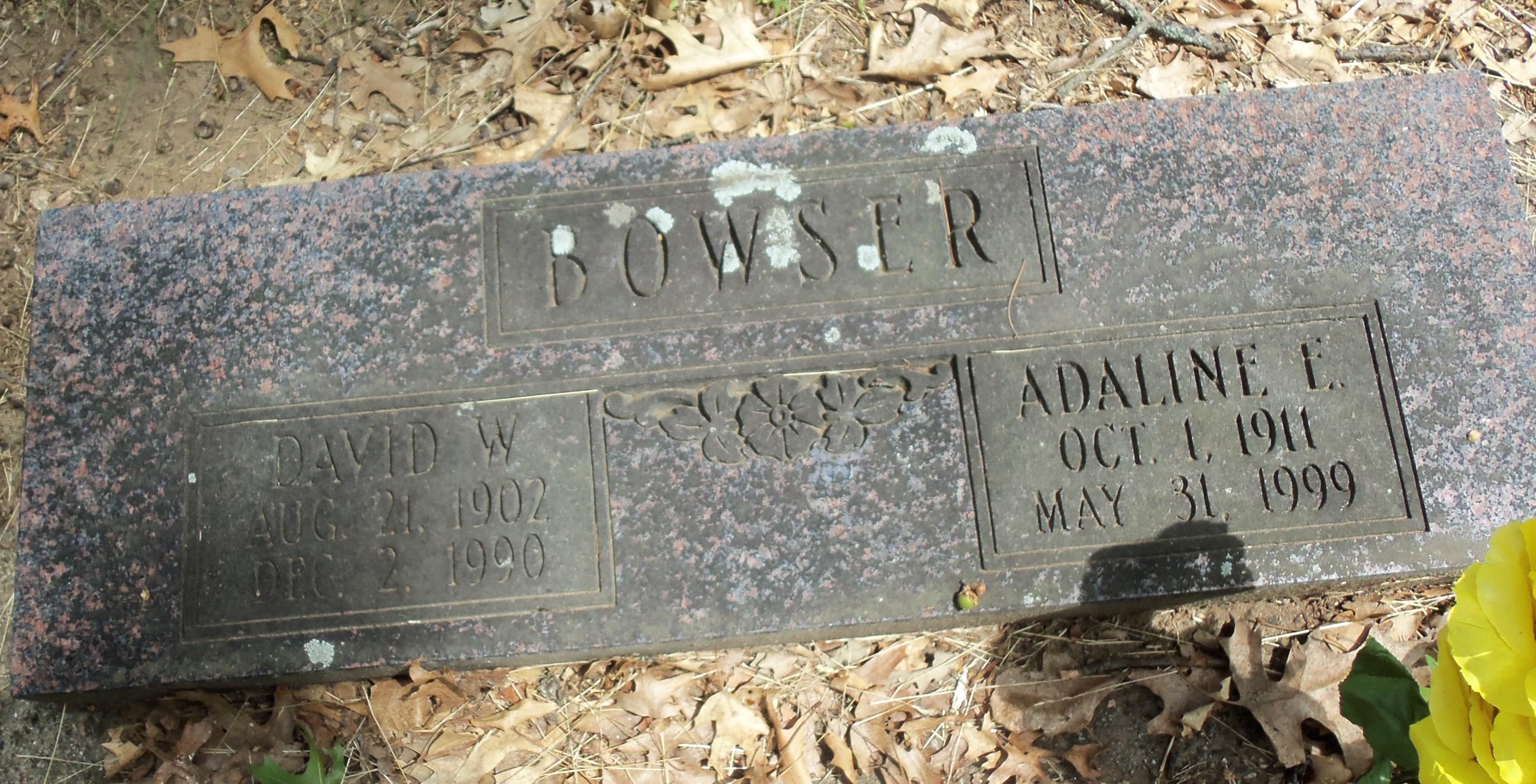 Adaline E. <i>Kaleas</i> Bowser