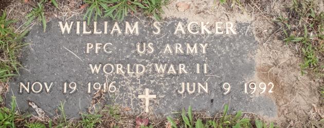 William Sherman Acker