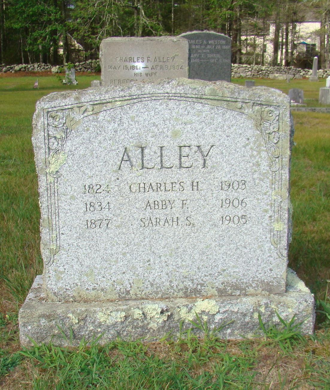 Abby F <i>Gorham</i> Alley