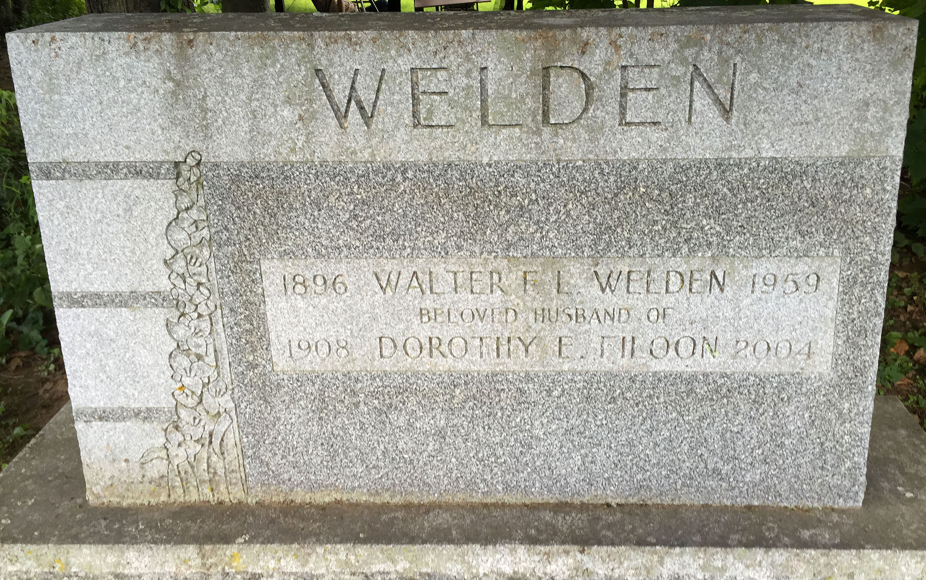 Walter Frances Leonard Welden