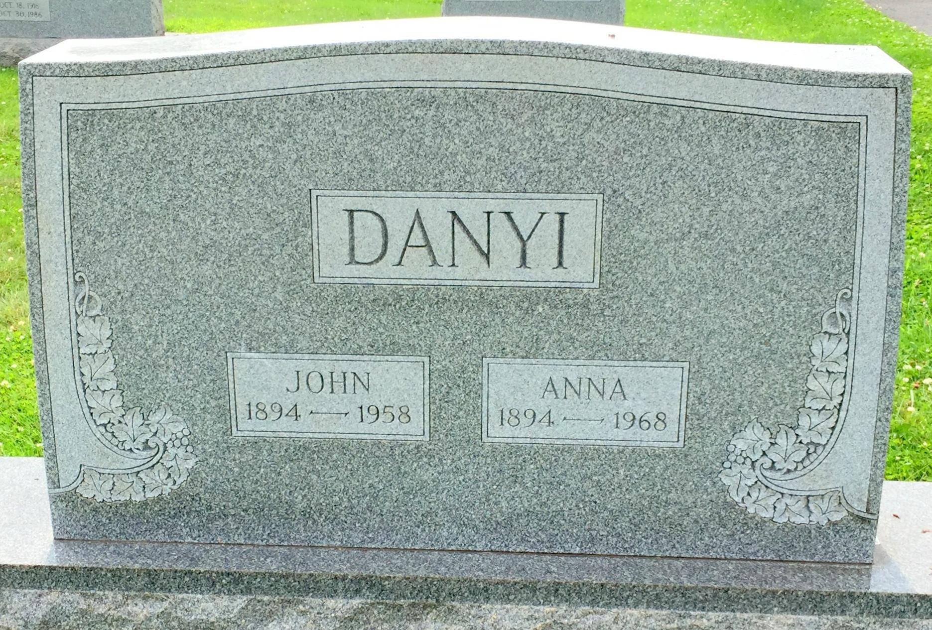 Anna <i>Warjas</i> Danyi