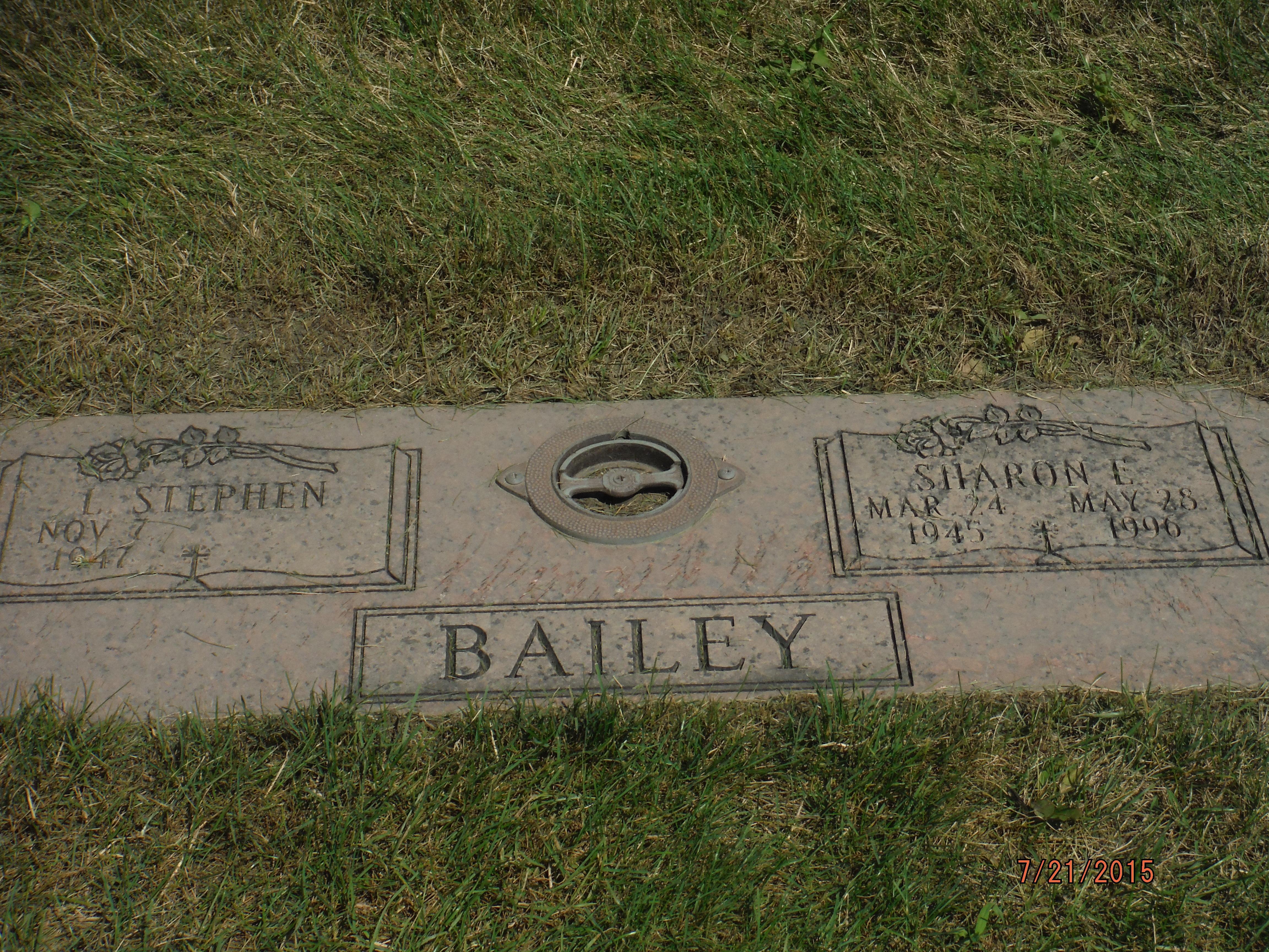 Sharon Elizabeth Lintner Bailey 1945 1996 Find A Grave Memorial