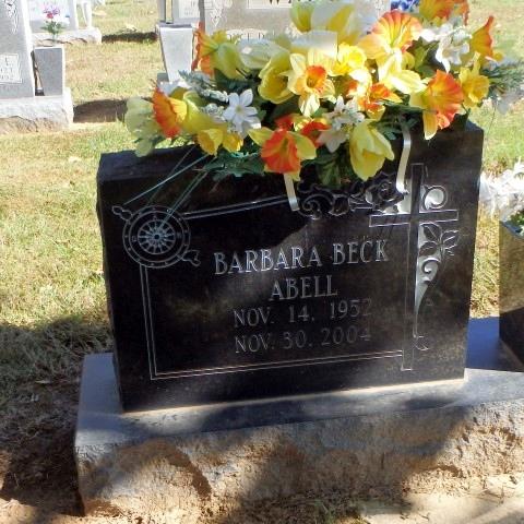 Barbara <i>Beck</i> Abell
