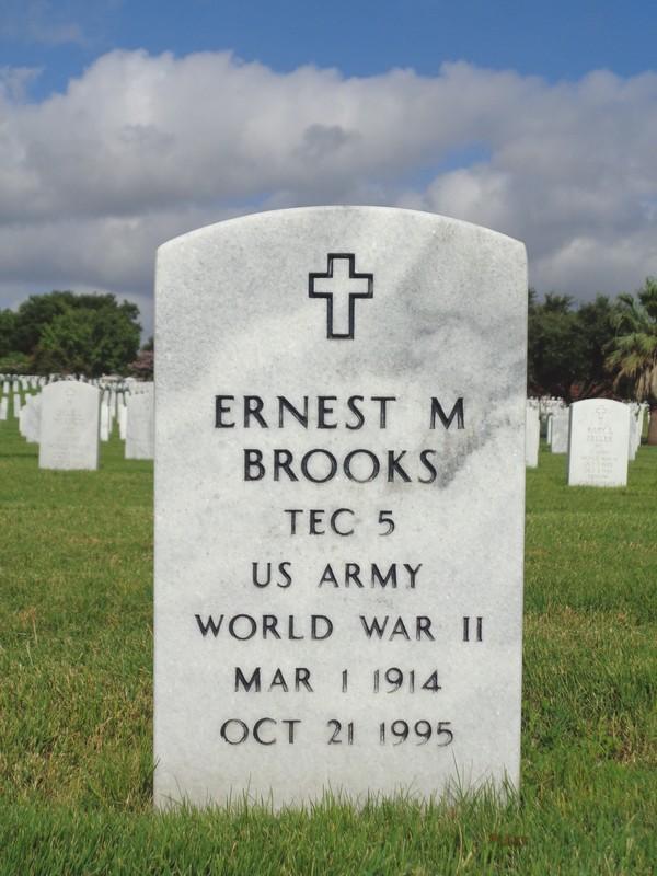 Ernest M Brooks