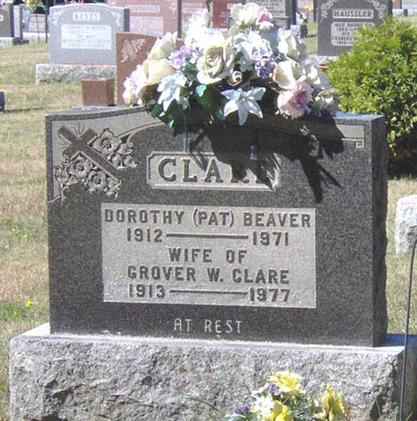 Grover William Clare