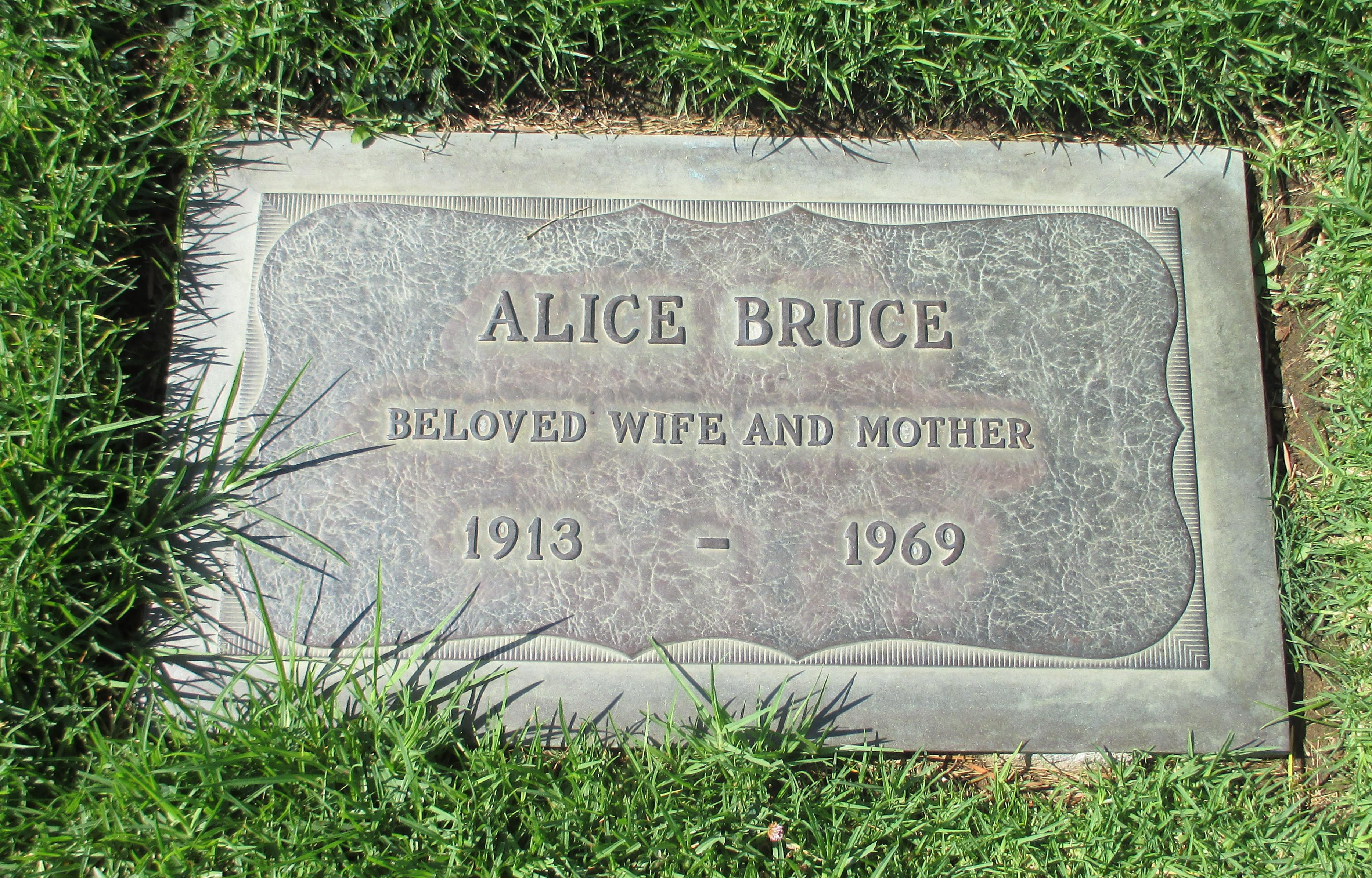 Alice Bruce
