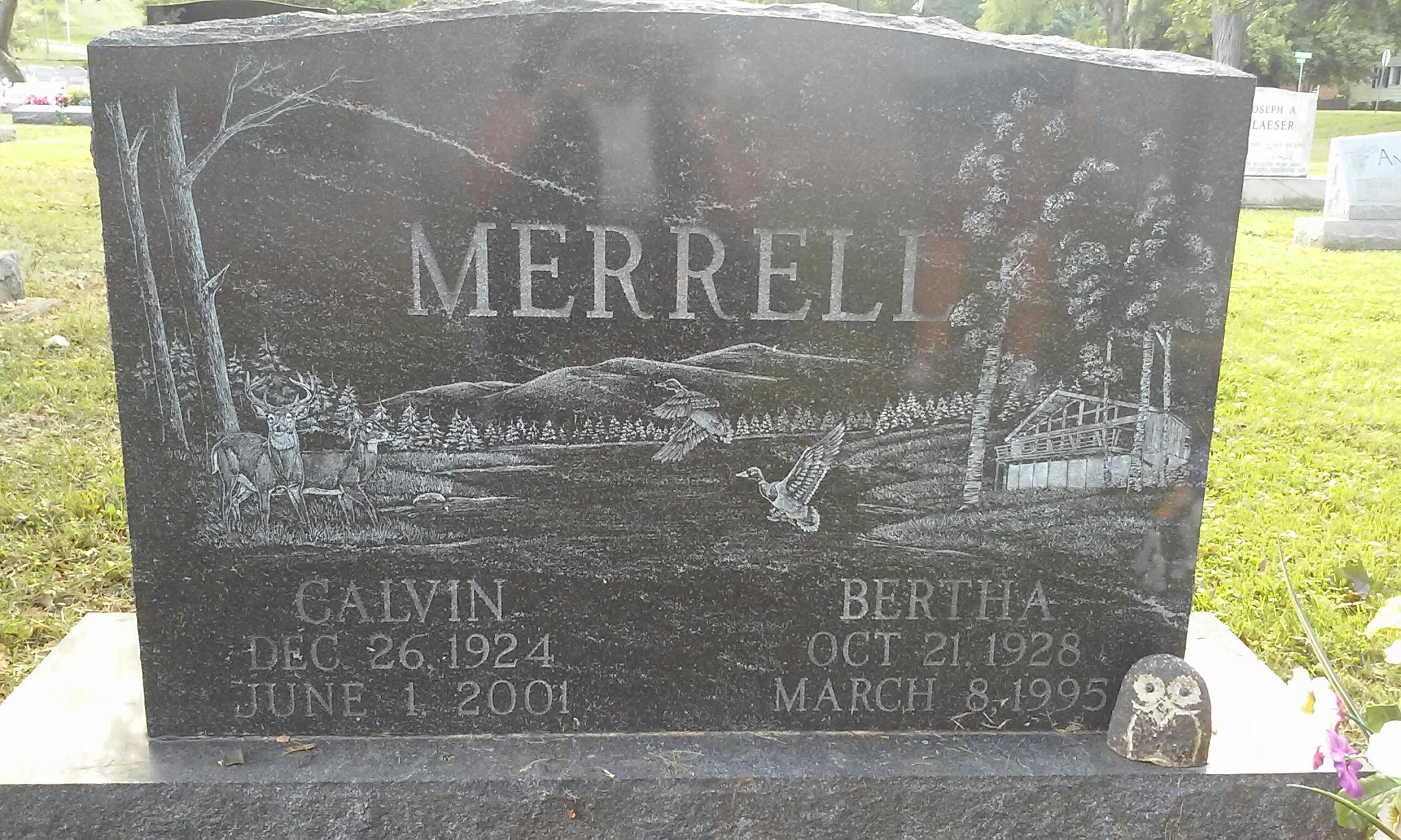 Bertha L <i>Stradley</i> Merrell