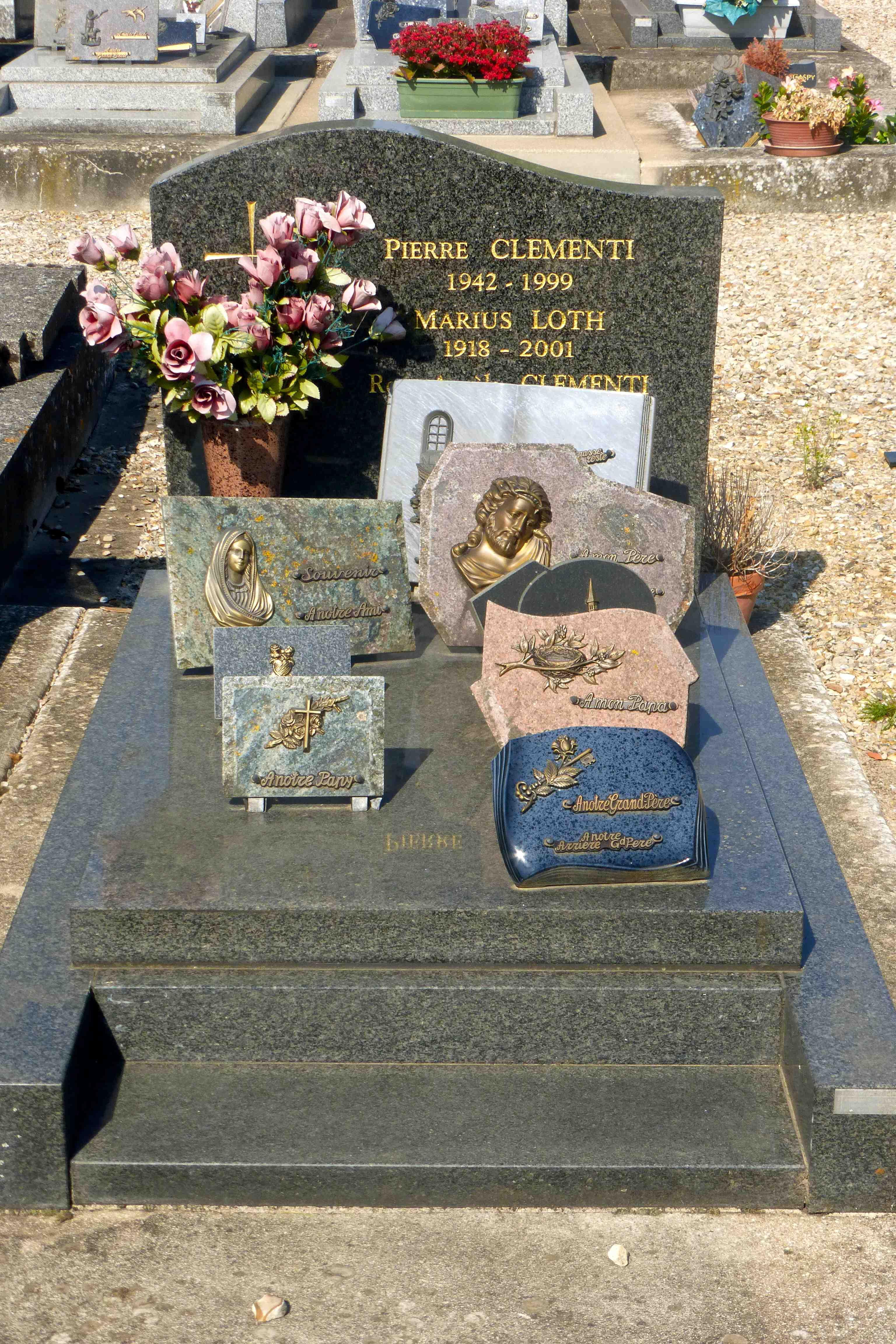 Pierre De L Yonne pierre clementi (1942-1999) - find a grave memorial