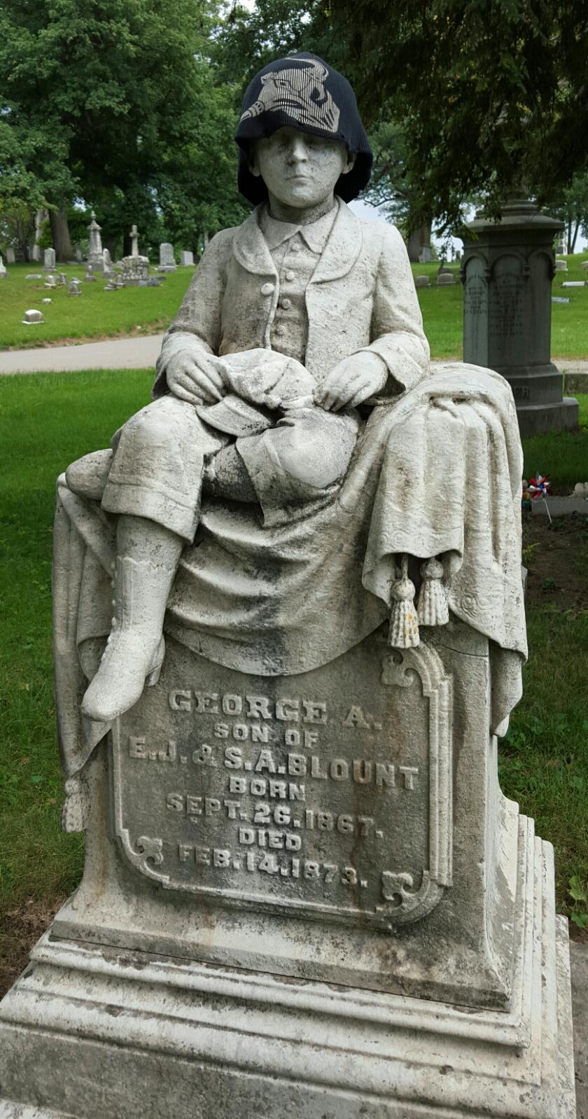 George A Georgie Blount