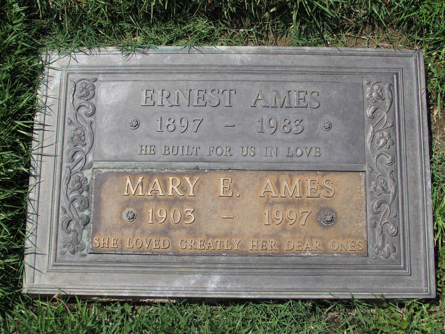 Mary Emeline <i>Hatch</i> Ames