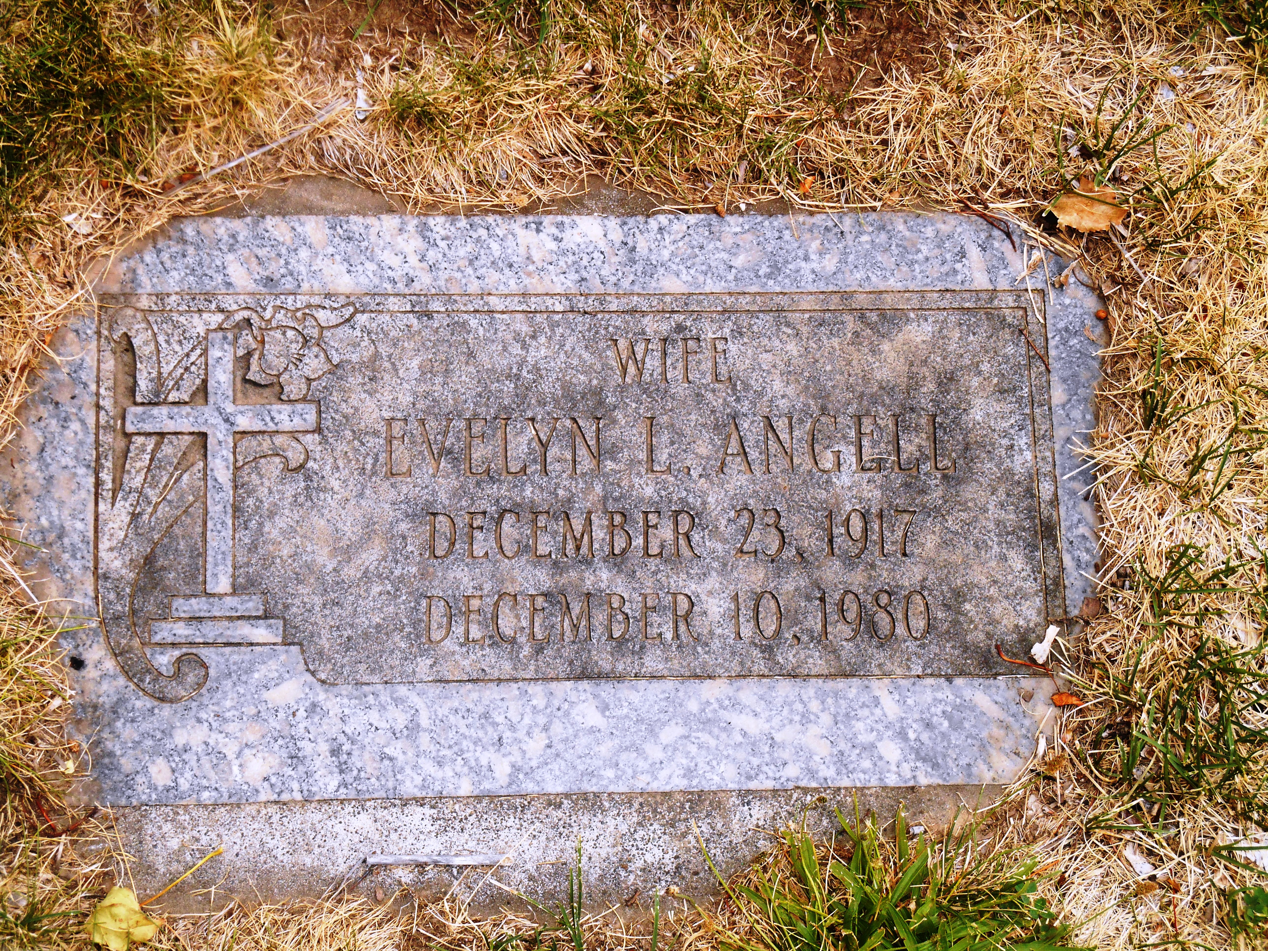 Evelyn Lois <i>Stanford Piplic Cox</i> Angell