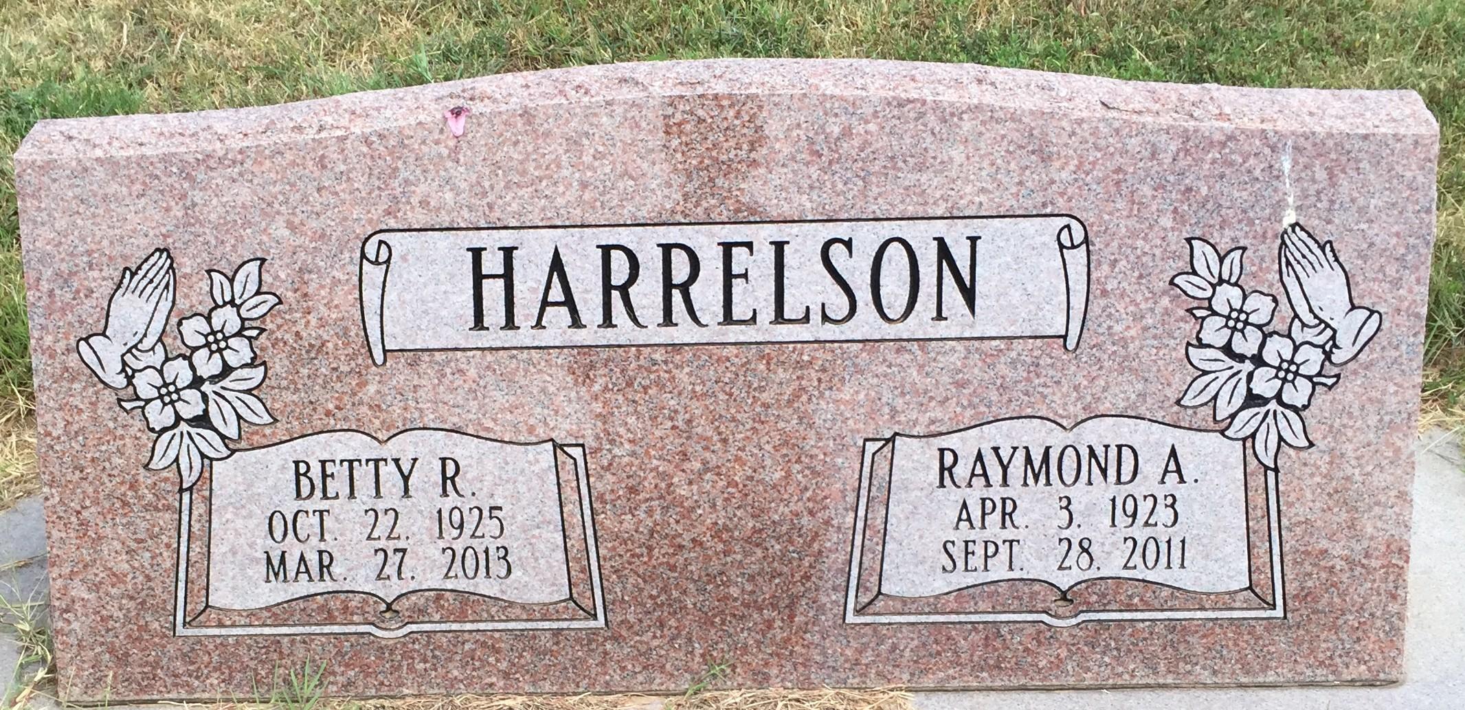Betty Rose <i>Stubblefield</i> Harrelson