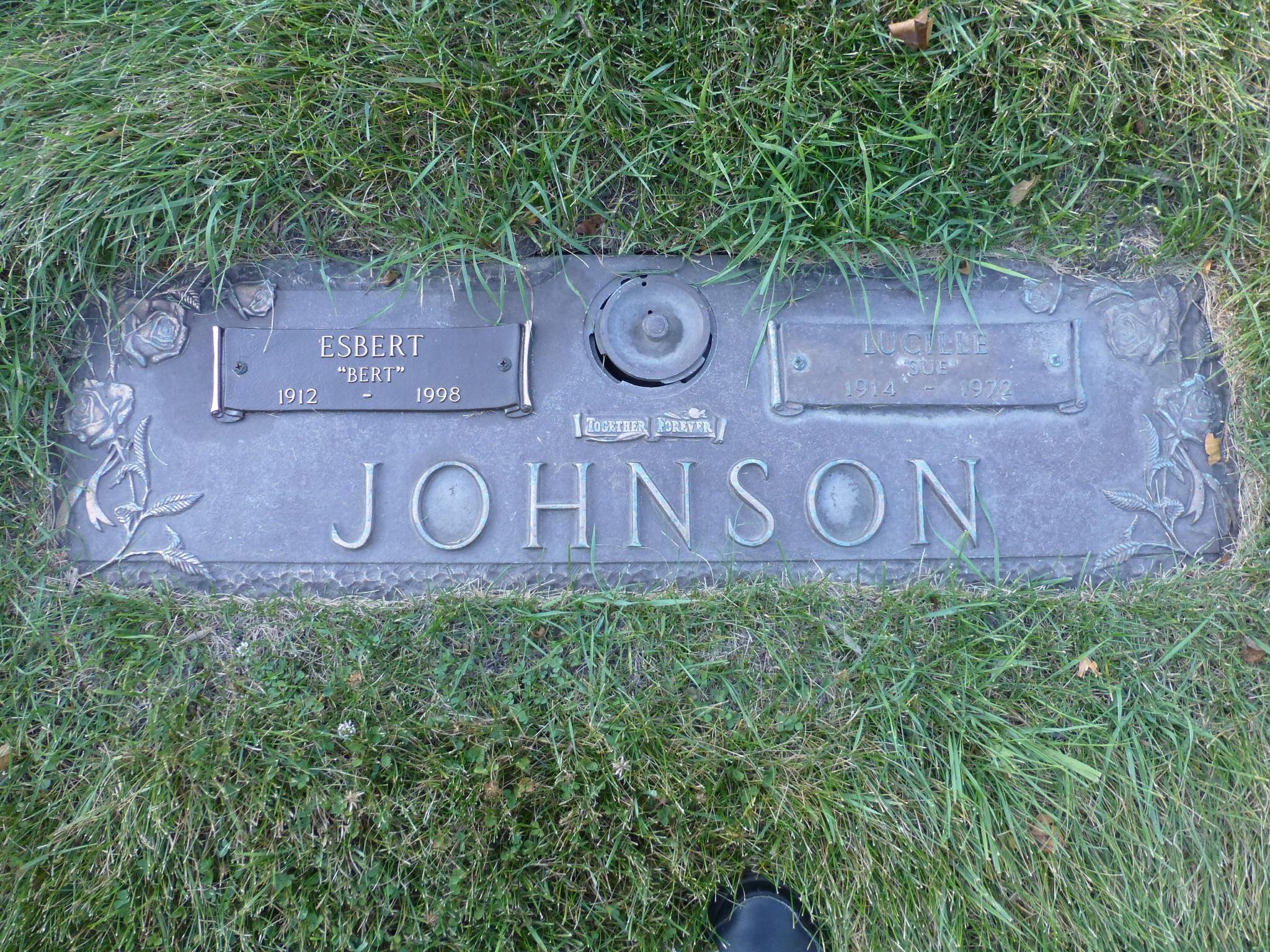 Lucille Mae <i>Jensen</i> Johnson