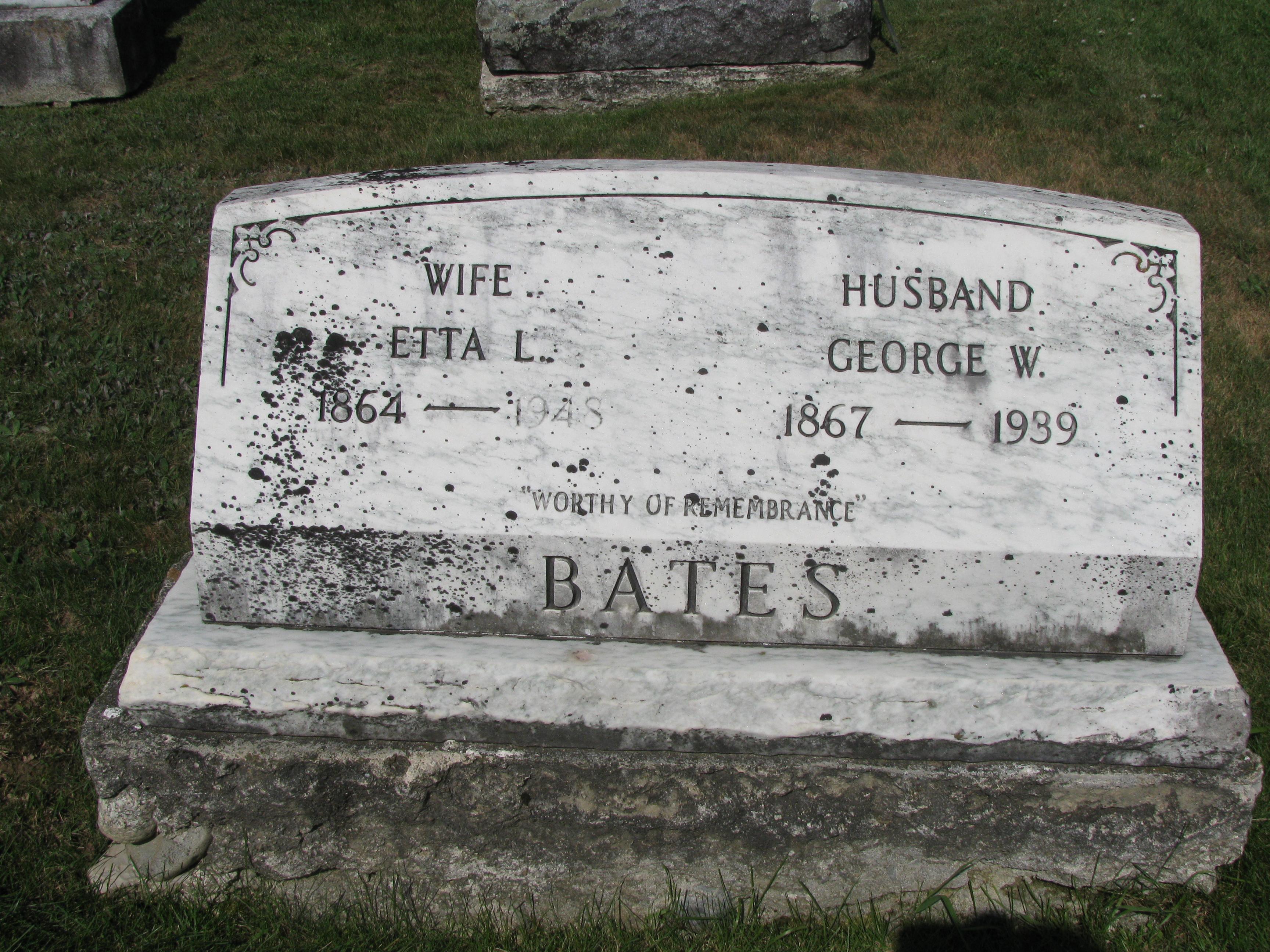 Etta L Bates